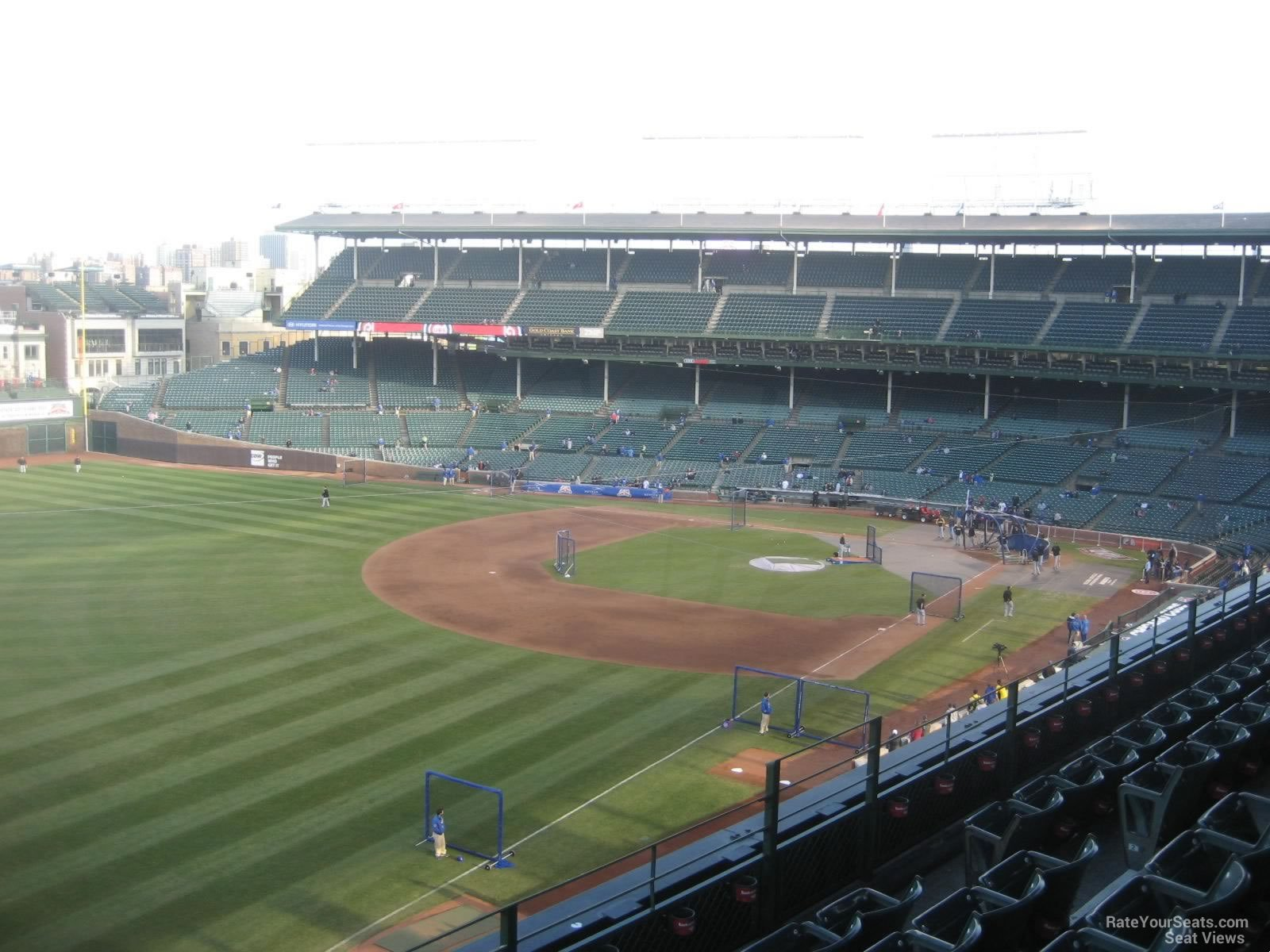 Wrigley Field Section 404 Chicago Cubs RateYourSeats