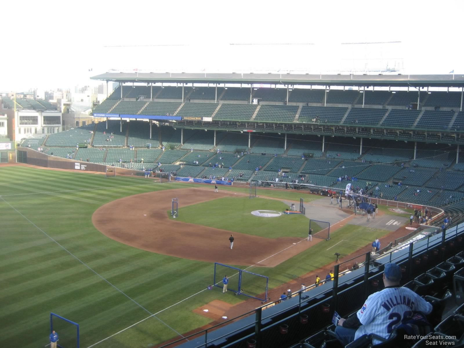 Wrigley Field Section 406 - Chicago Cubs - RateYourSeats.com