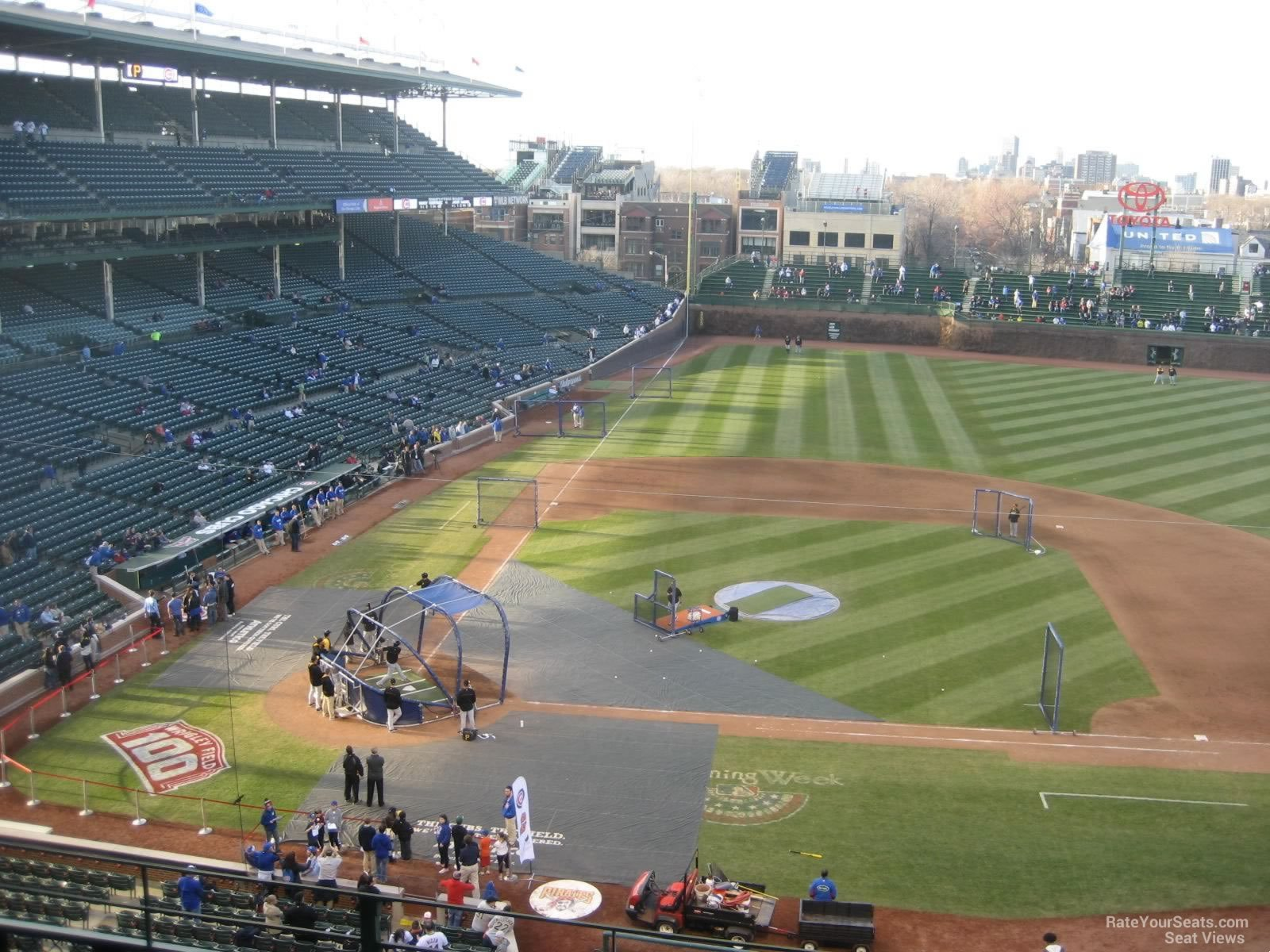 Wrigley Field Section 323 Chicago Cubs Rateyourseats Com