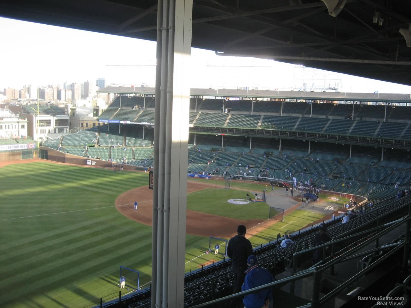 Wrigley Field Section 504 - Chicago Cubs - RateYourSeats.com