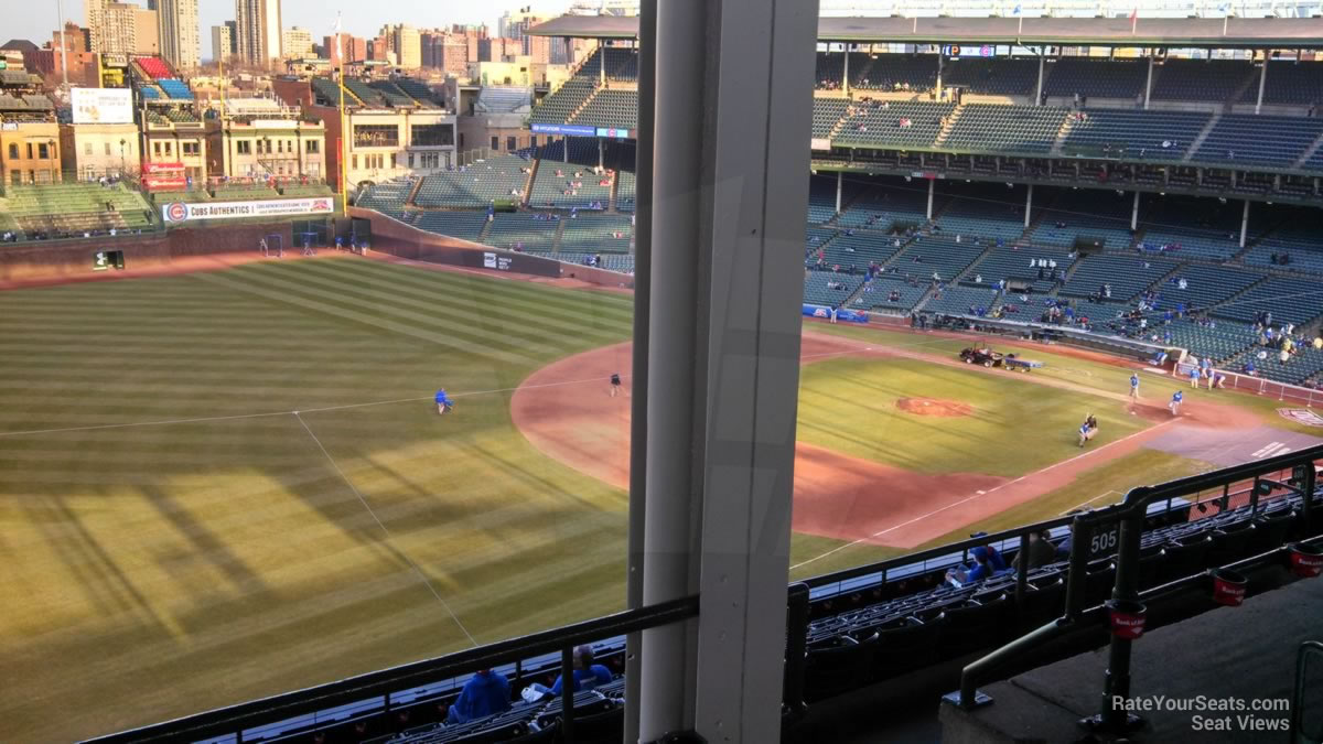 Wrigley Field Section 505 - Chicago Cubs - RateYourSeats.com