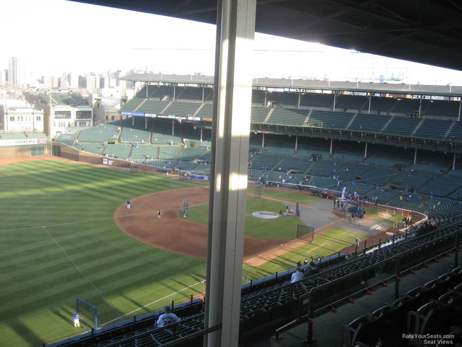 Seat View for Wrigley Field Section 505