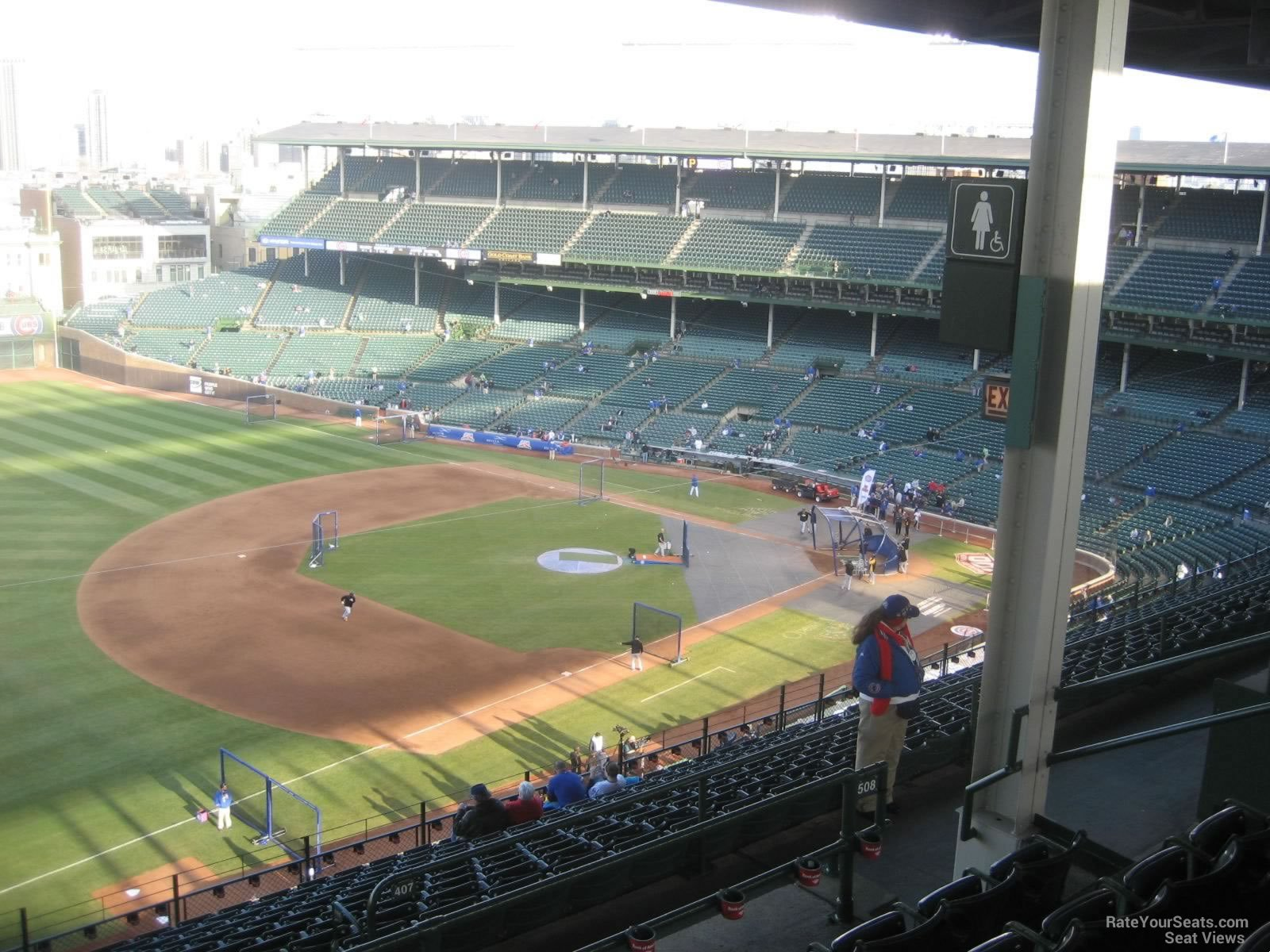 Wrigley Field Section 508 - Chicago Cubs - RateYourSeats.com