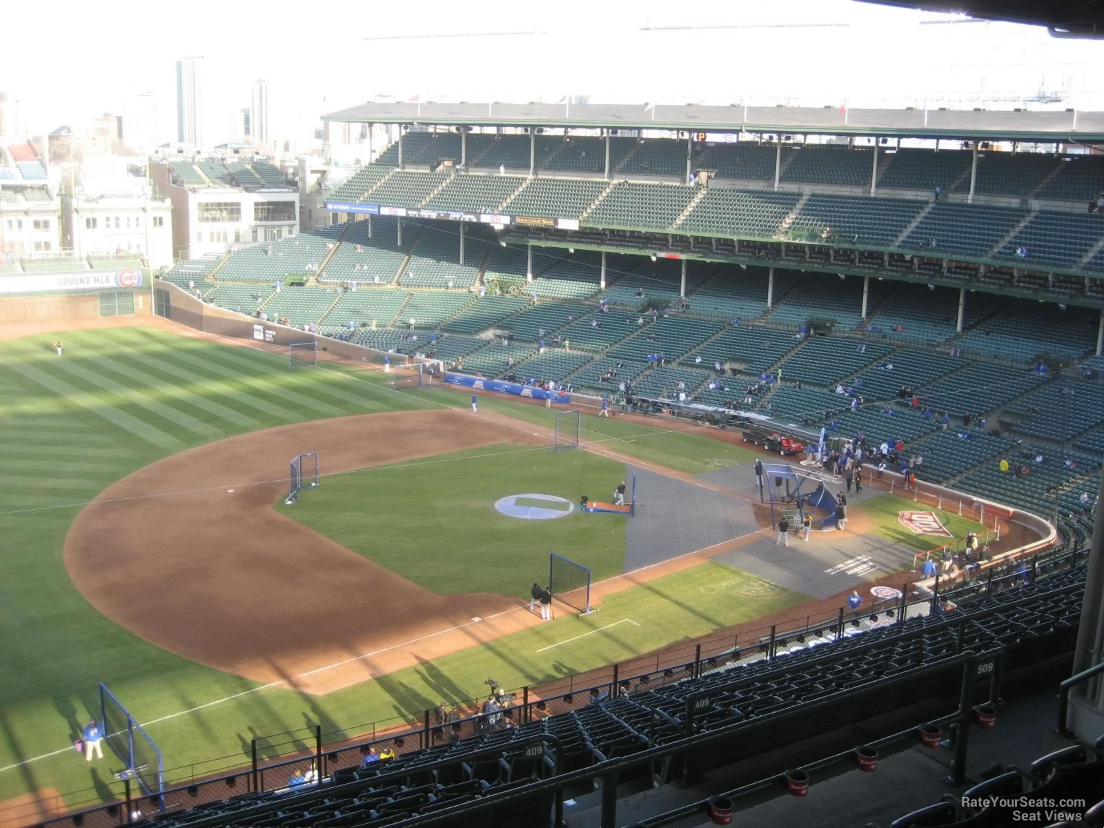 Wrigley Field Section 509 Chicago Cubs RateYourSeats