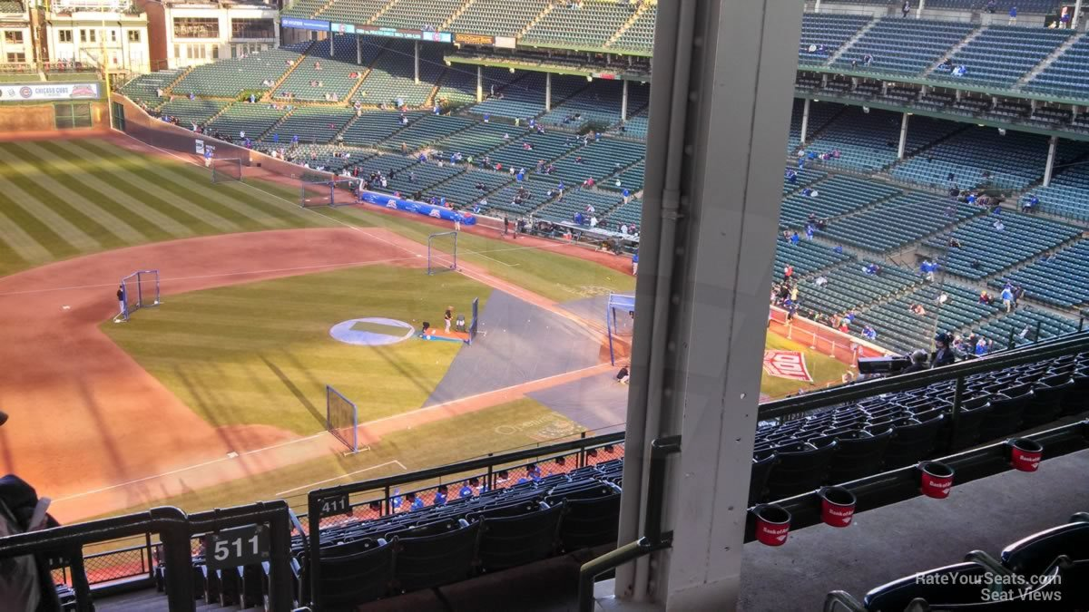 Wrigley Field Section 511 - Chicago Cubs - RateYourSeats.com