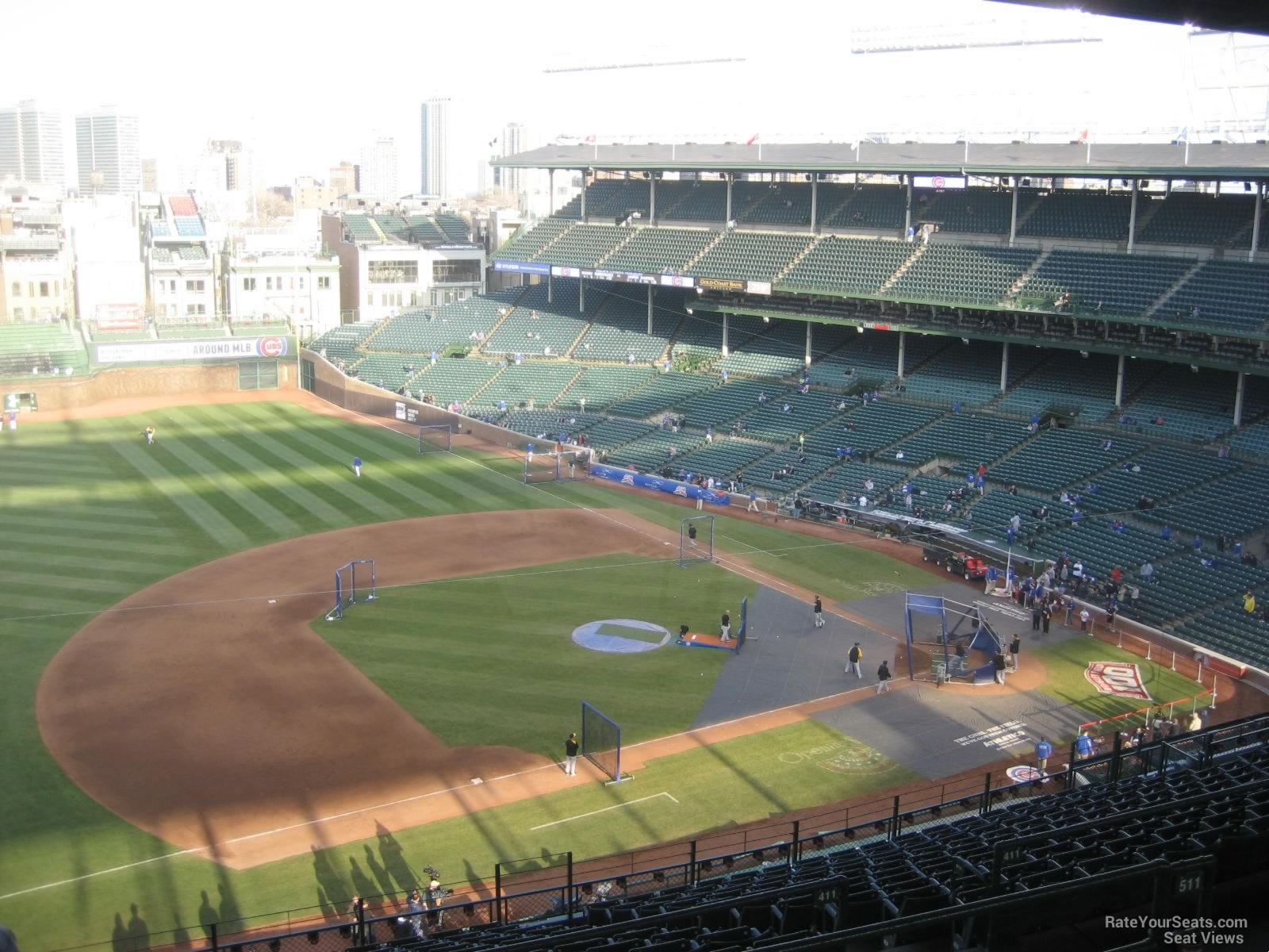 Wrigley Field Section 409 Chicago Cubs Rateyourseats Com