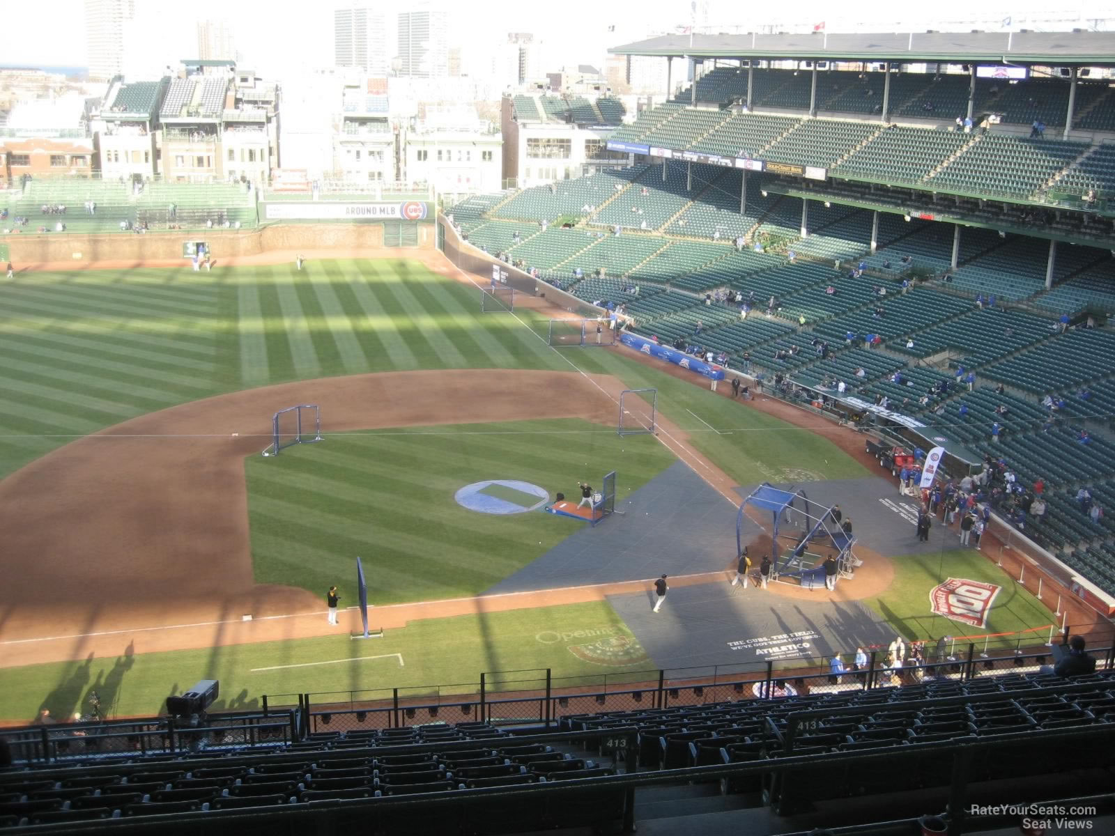 Seat View for Wrigley Field Section 514