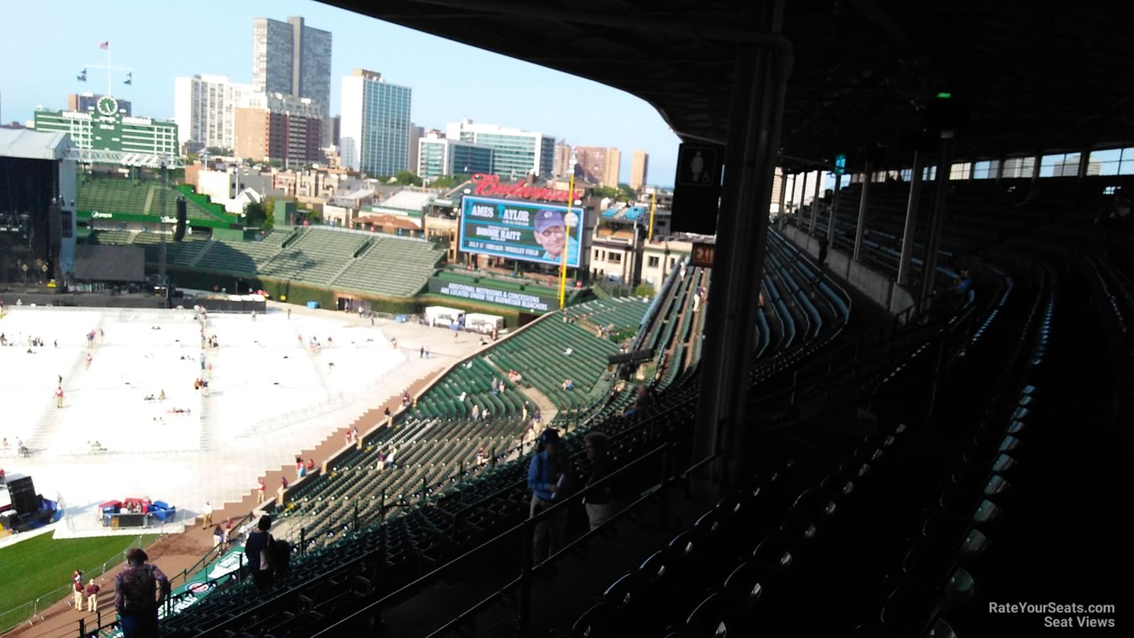 Wrigley Field Section 524 Concert Seating - RateYourSeats.com