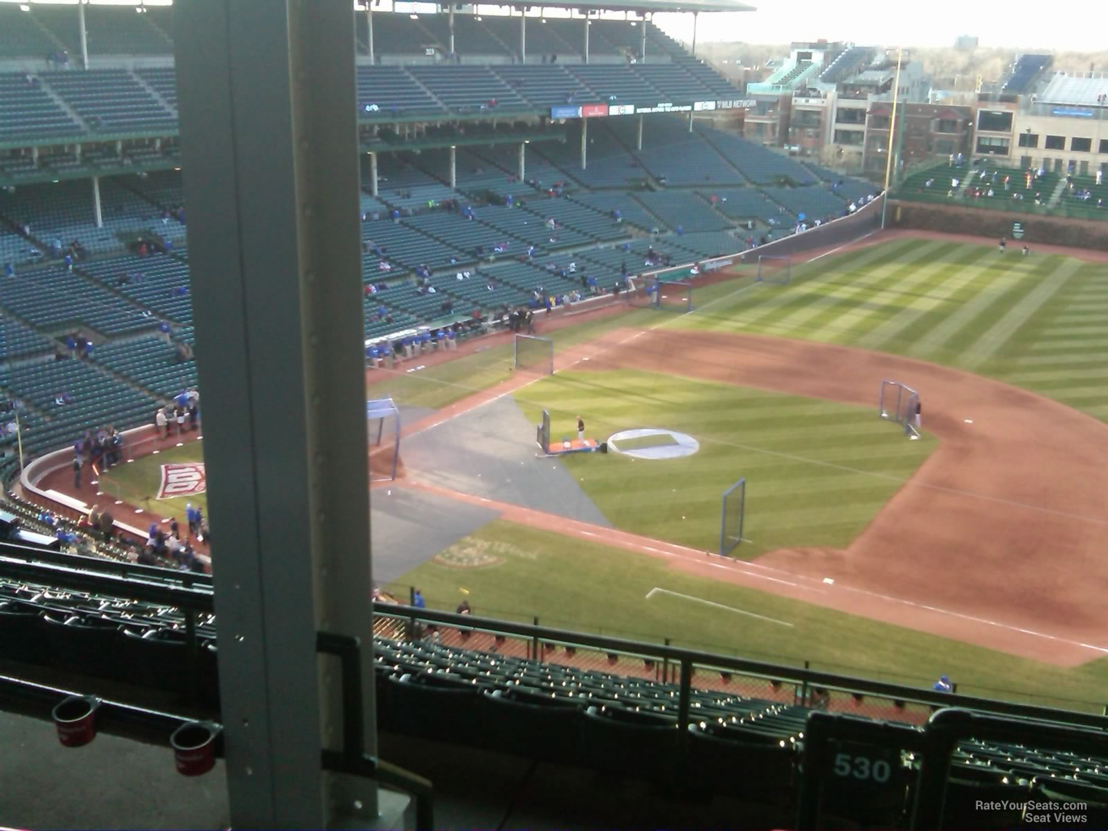 Wrigley Field Section 530 Chicago Cubs RateYourSeats