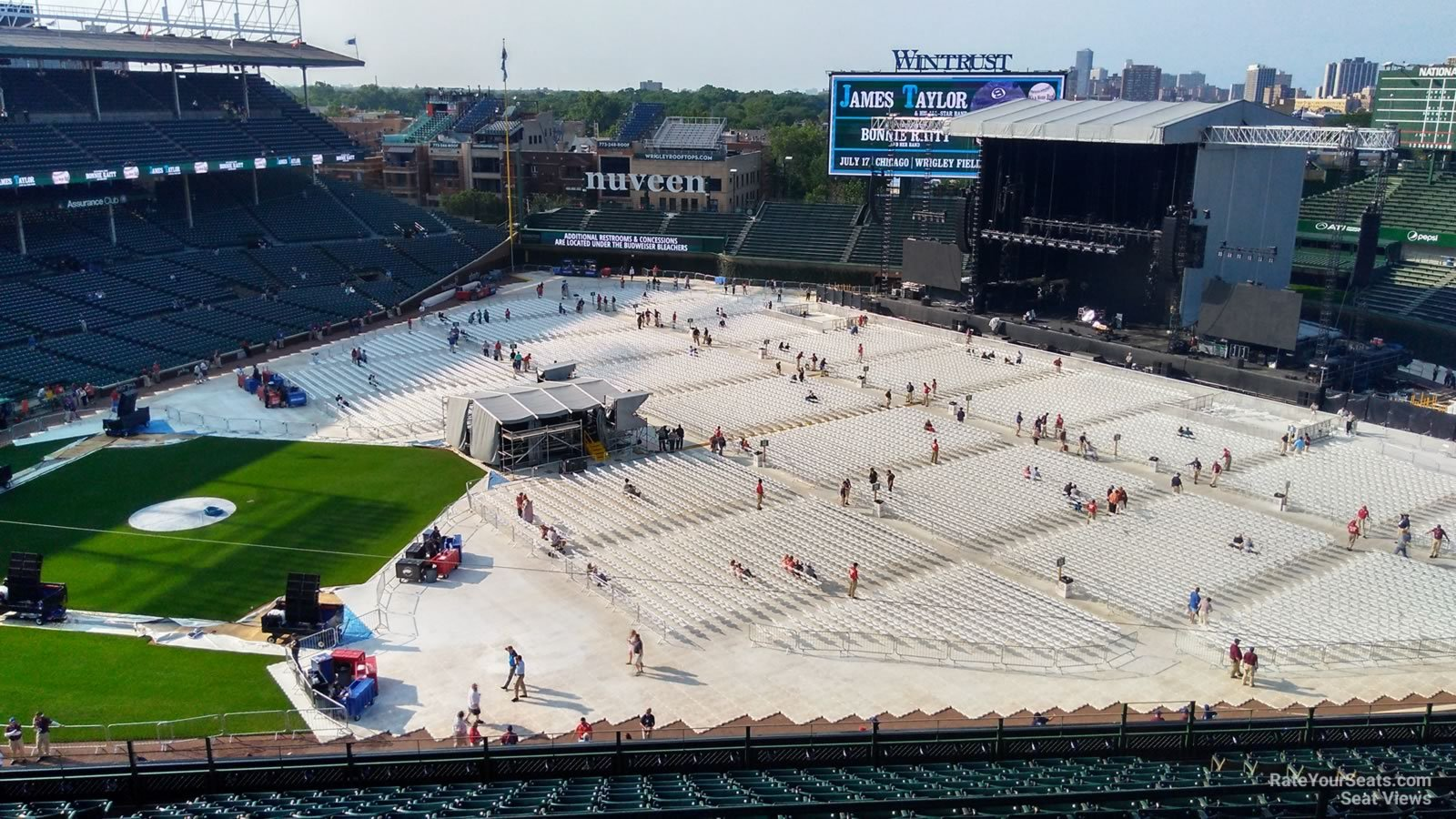 Wrigley Field Section 532 Concert Seating - RateYourSeats.com