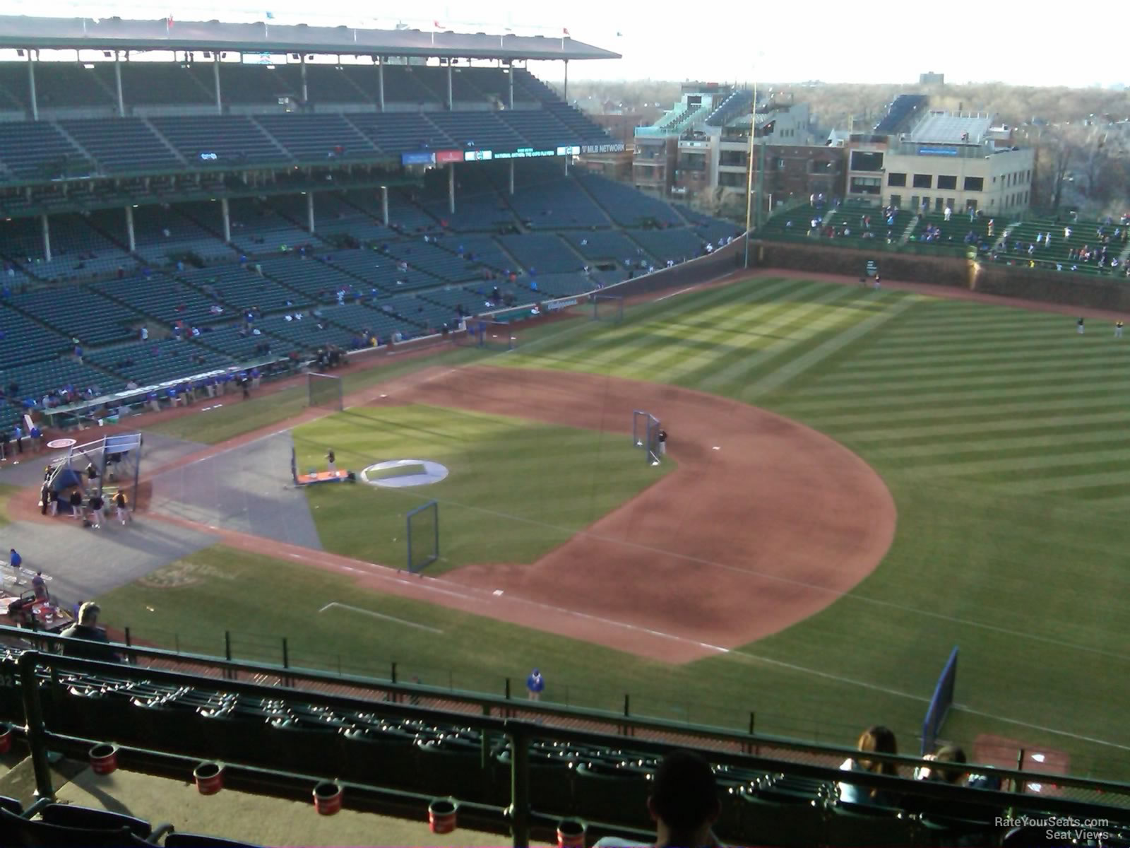 wrigley field section 532 - chicago cubs - rateyourseats