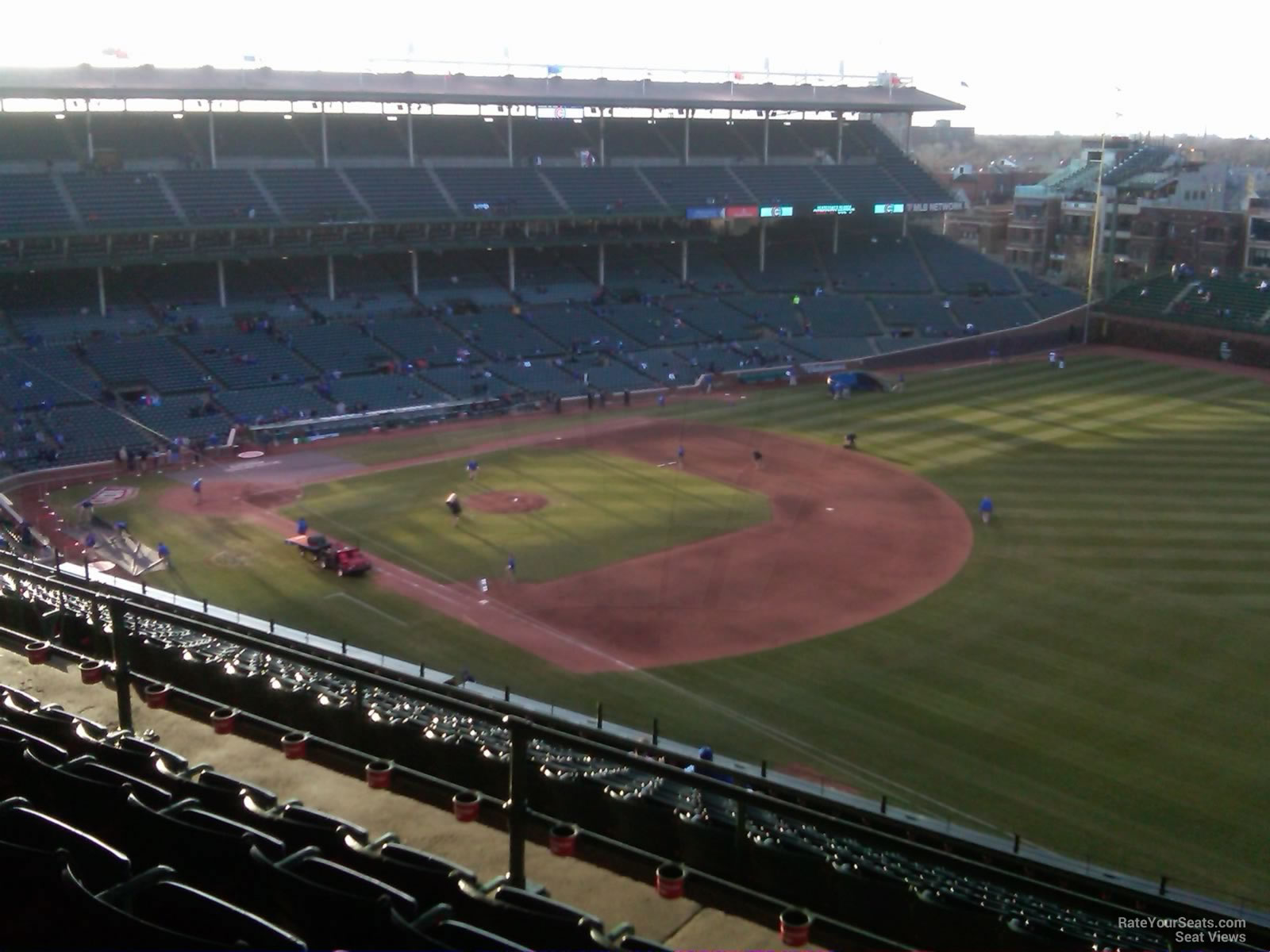 Wrigley Field Section 536 Chicago Cubs RateYourSeats