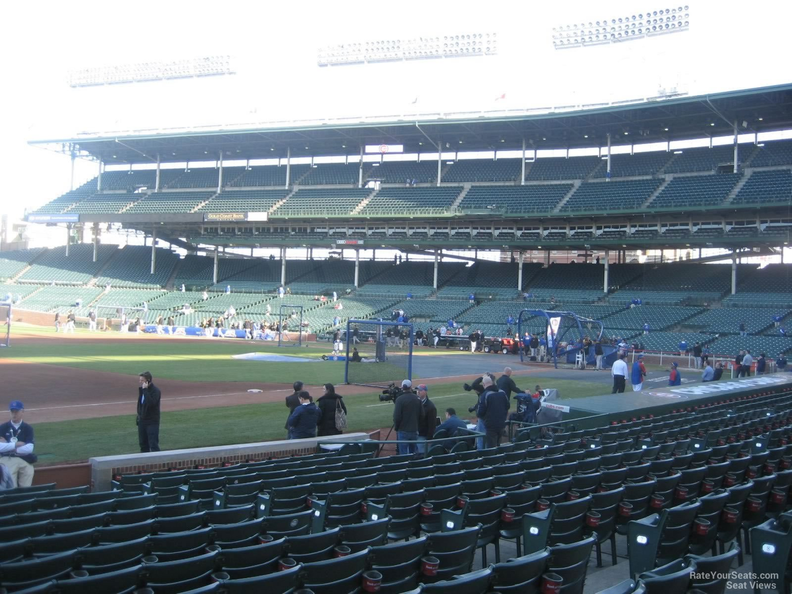 Seat View for Wrigley Field Section 9
