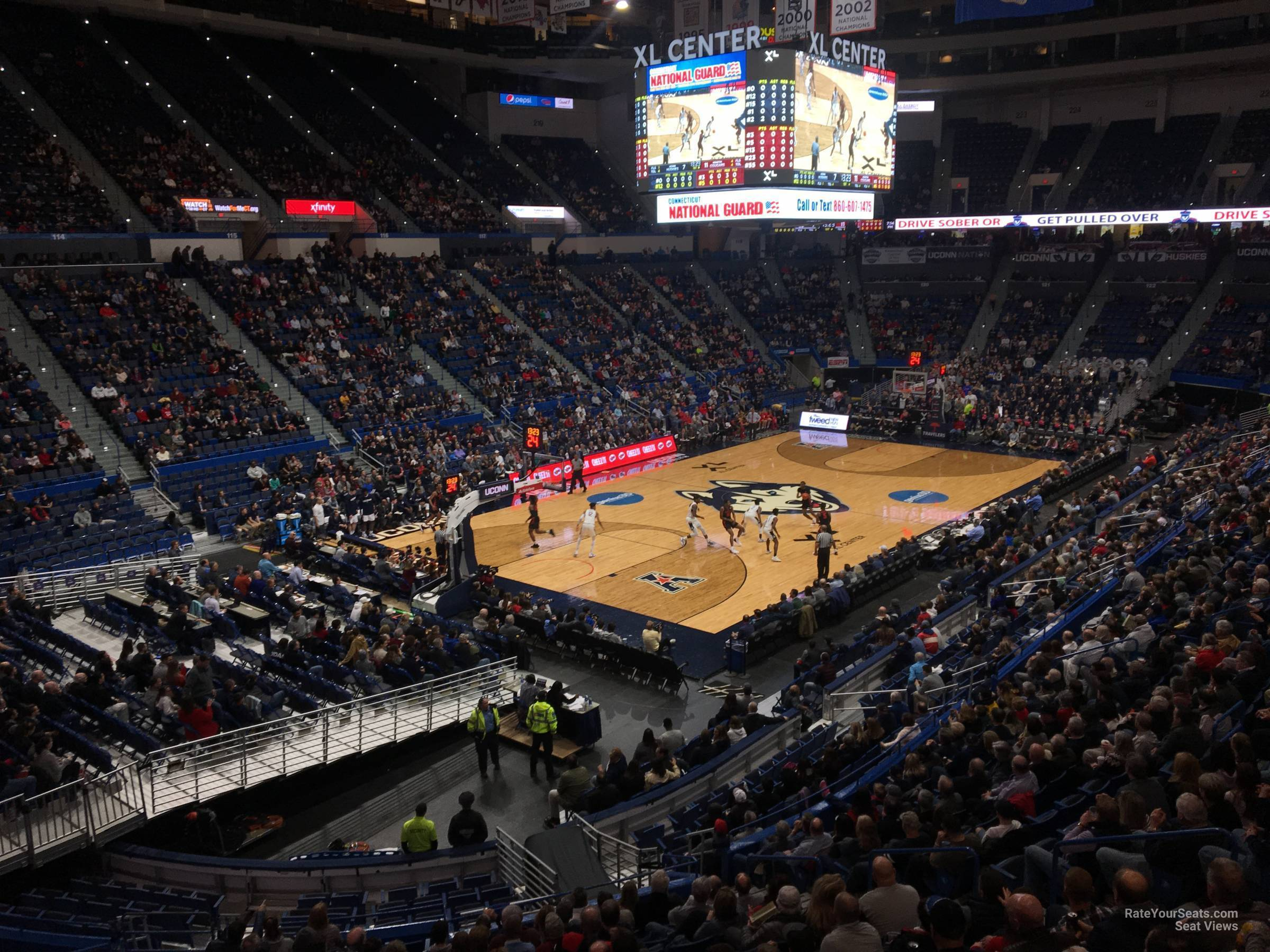 Xl Center Section 107