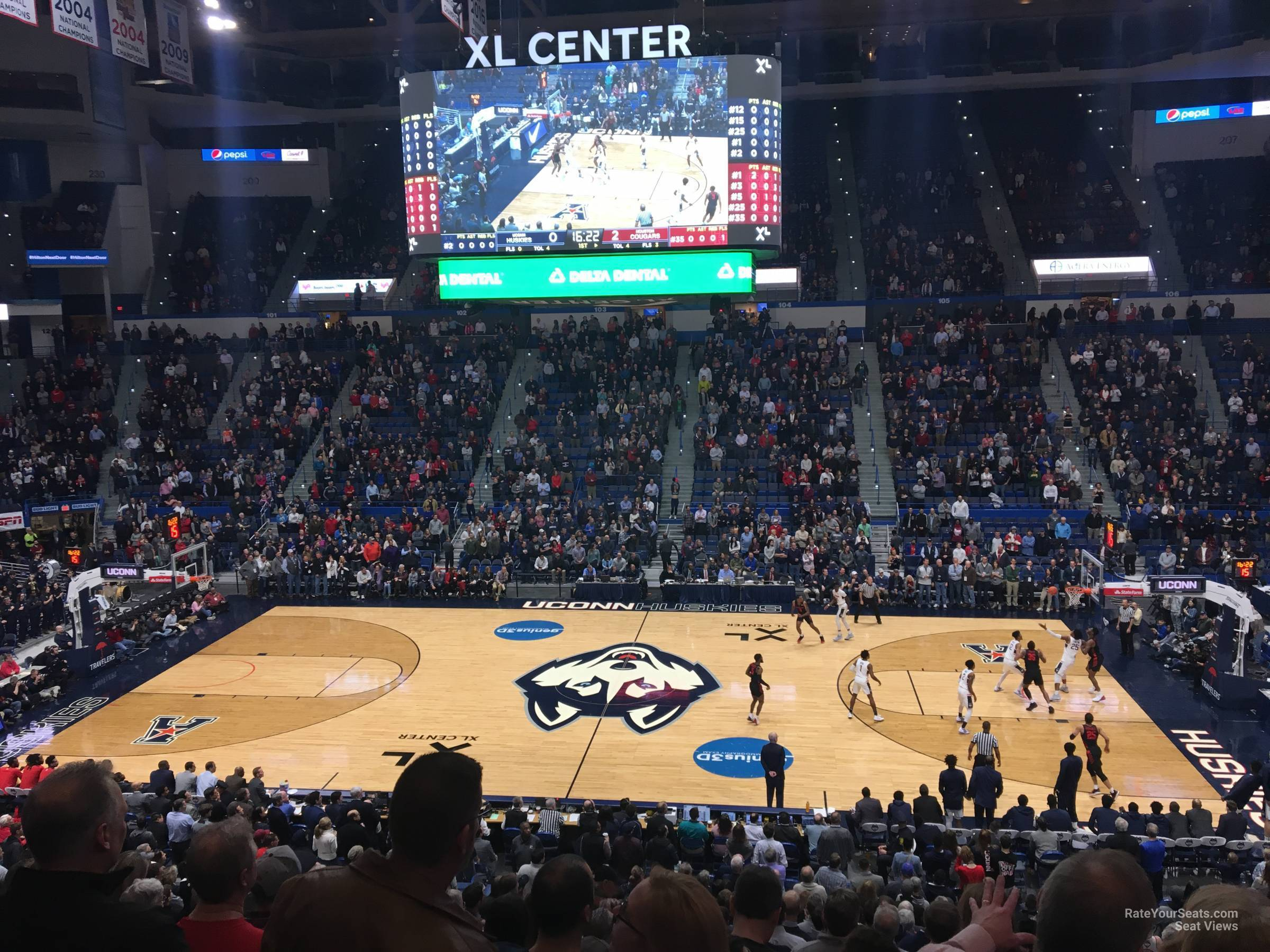 Xl Center Section 115