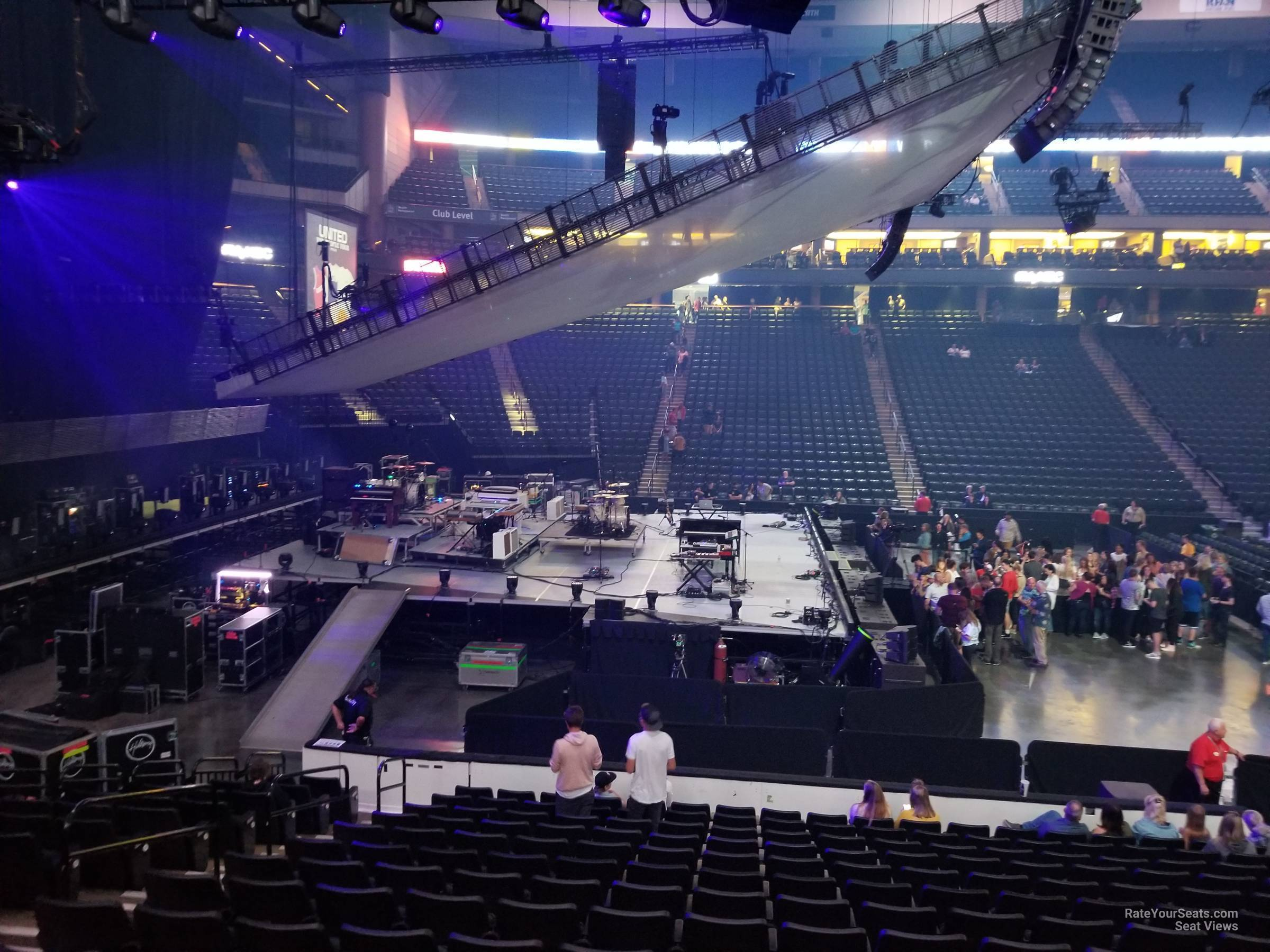 Xcel Energy Center Section 118 Concert Seating