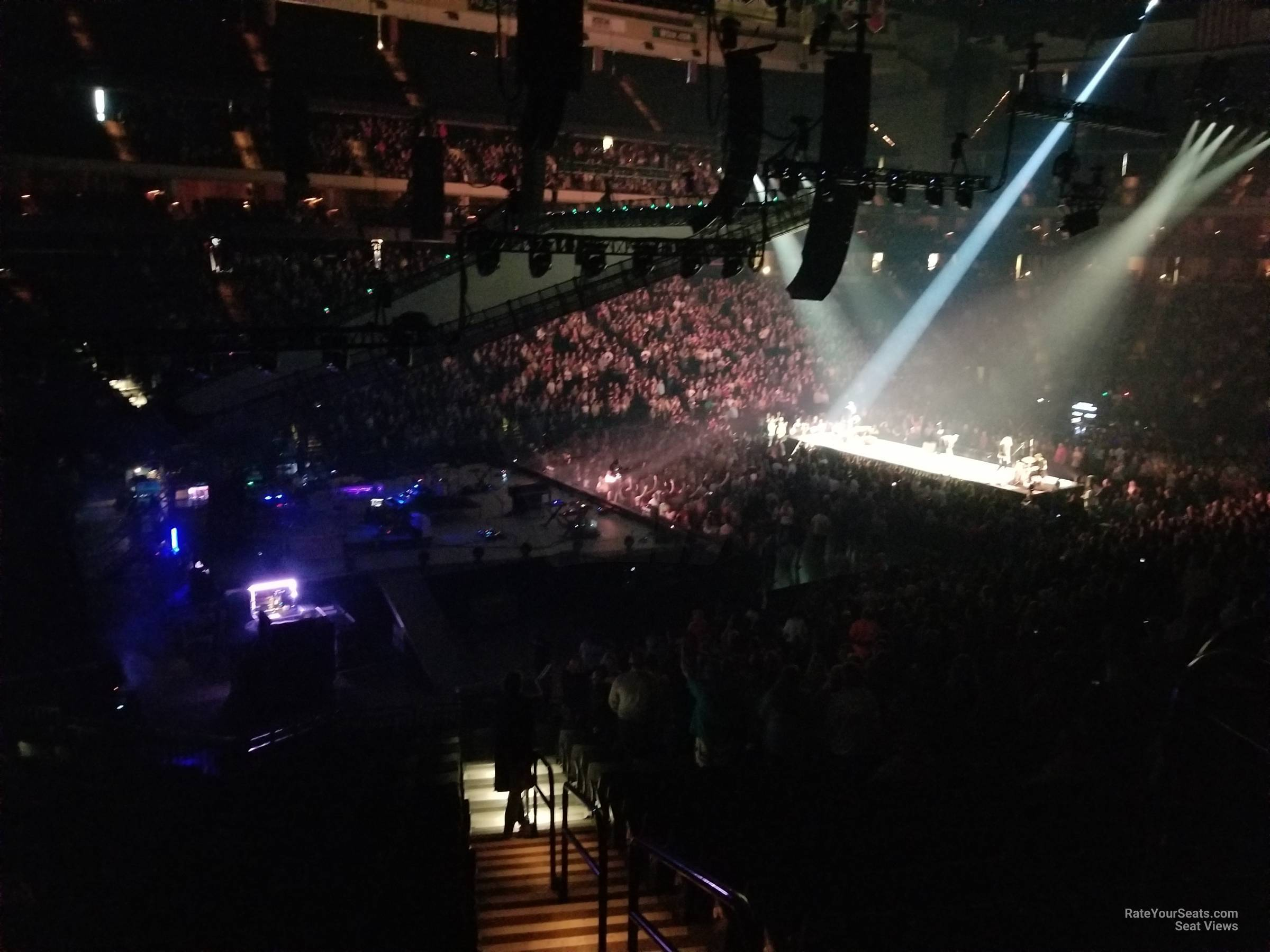 Concert Seat View for Xcel Energy Center Section 120, Row 26