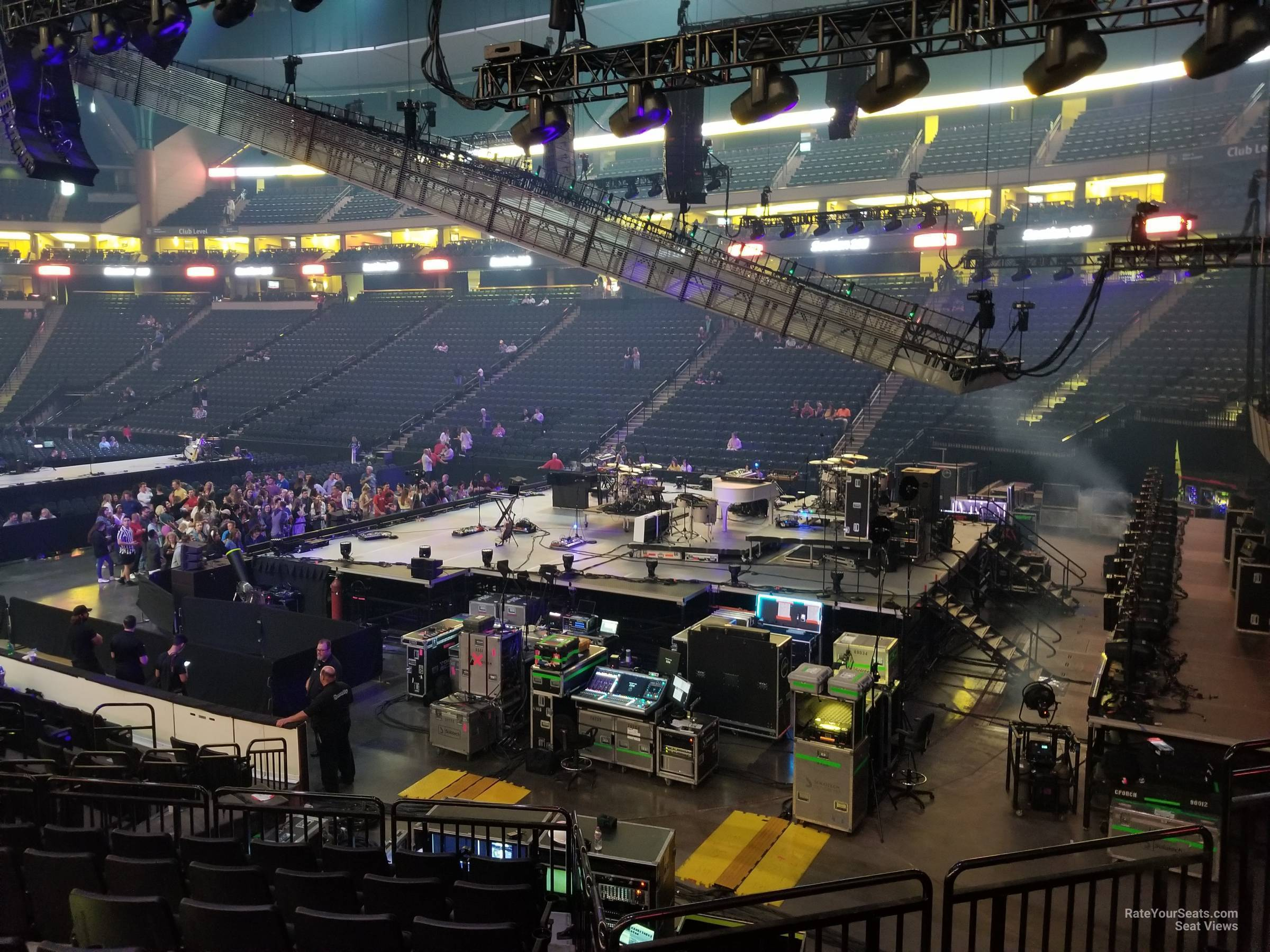 Concert Seat View for Xcel Energy Center Section 126, Row 15
