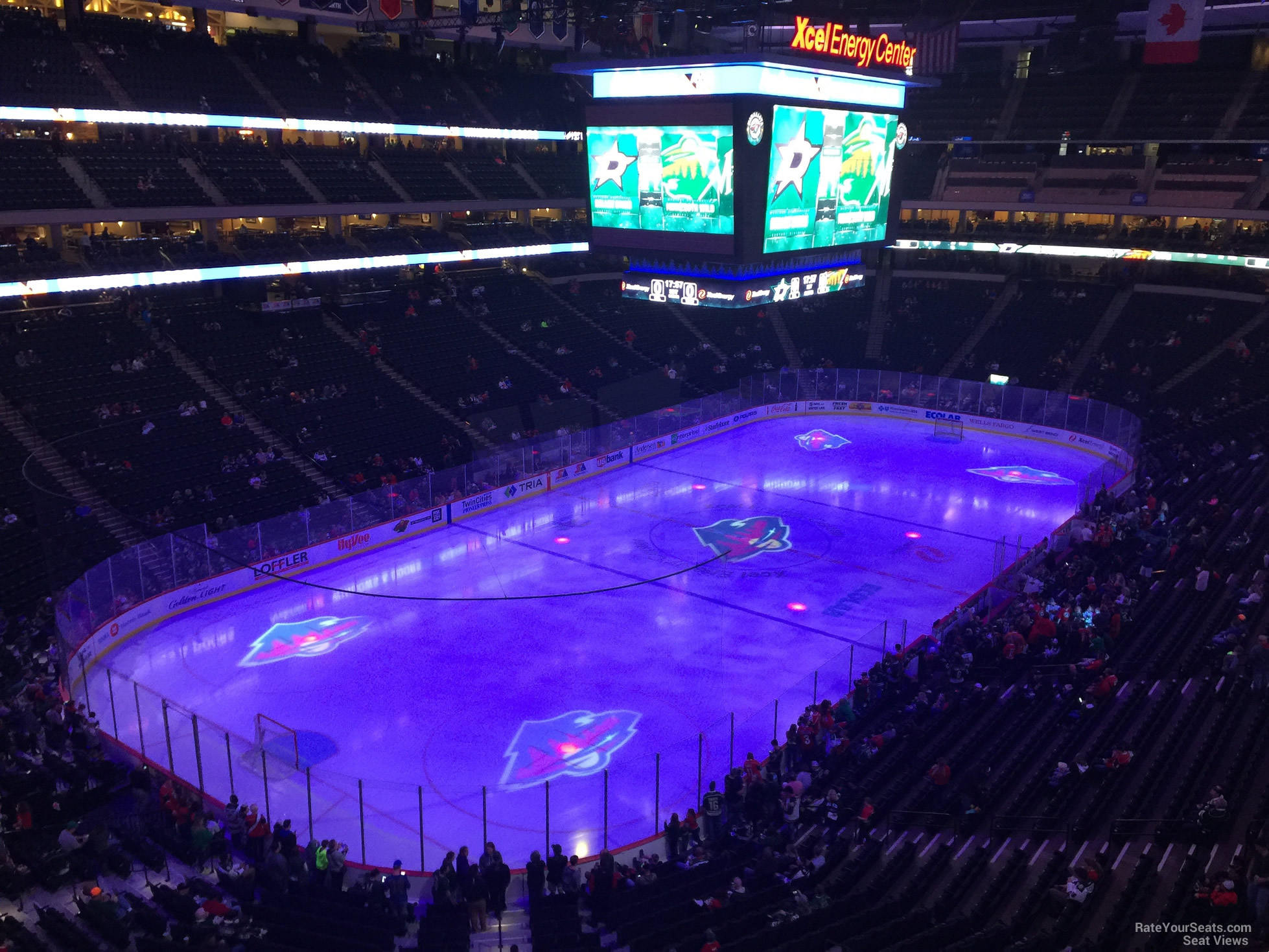Seat View for Xcel Energy Center Section C32, Row 5
