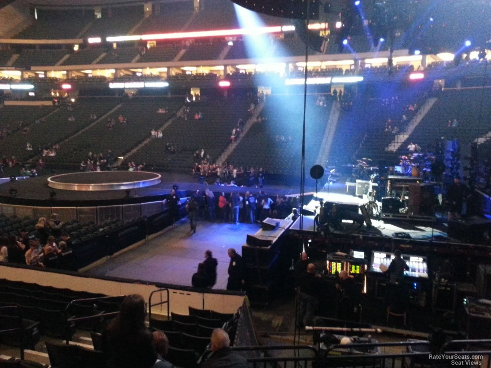 Concert Seat View for Xcel Energy Center Section 101 Row 13