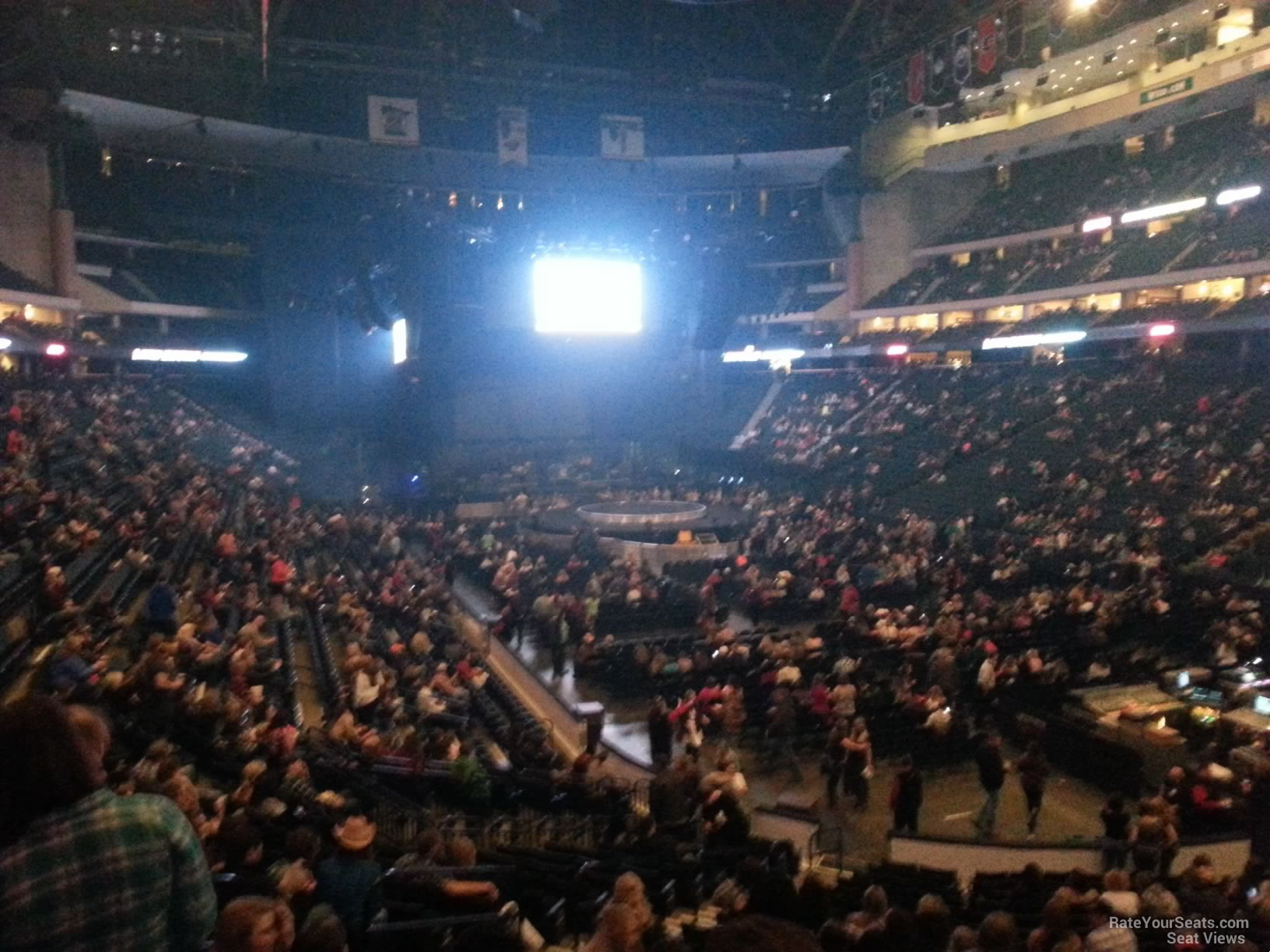 Concert Seat View for Xcel Energy Center Section 112
