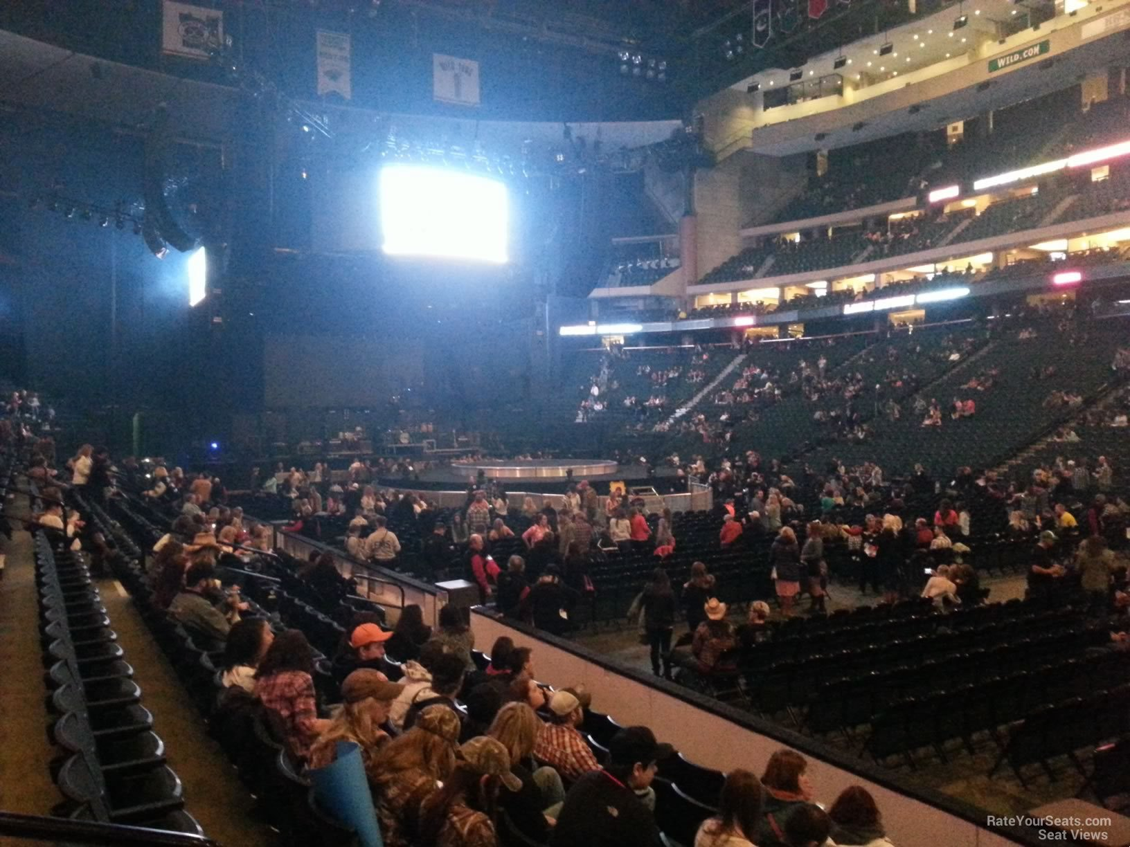 excel center seating