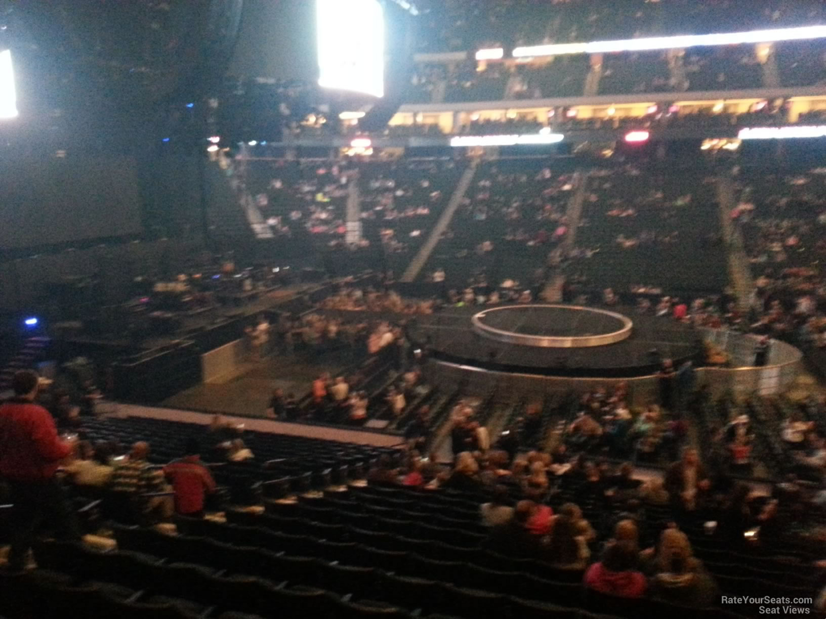 Concert Seat View for Xcel Energy Center Section 117