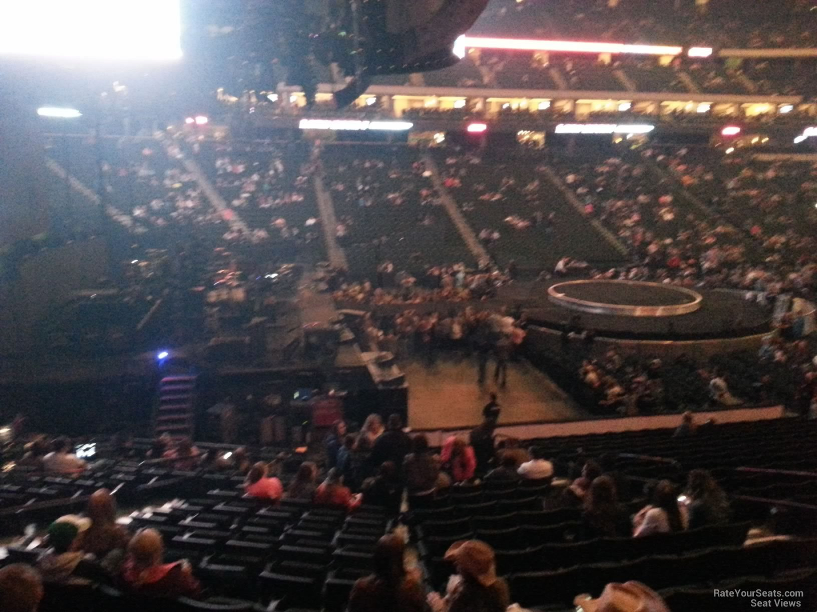 Concert Seat View for Xcel Energy Center Section 119
