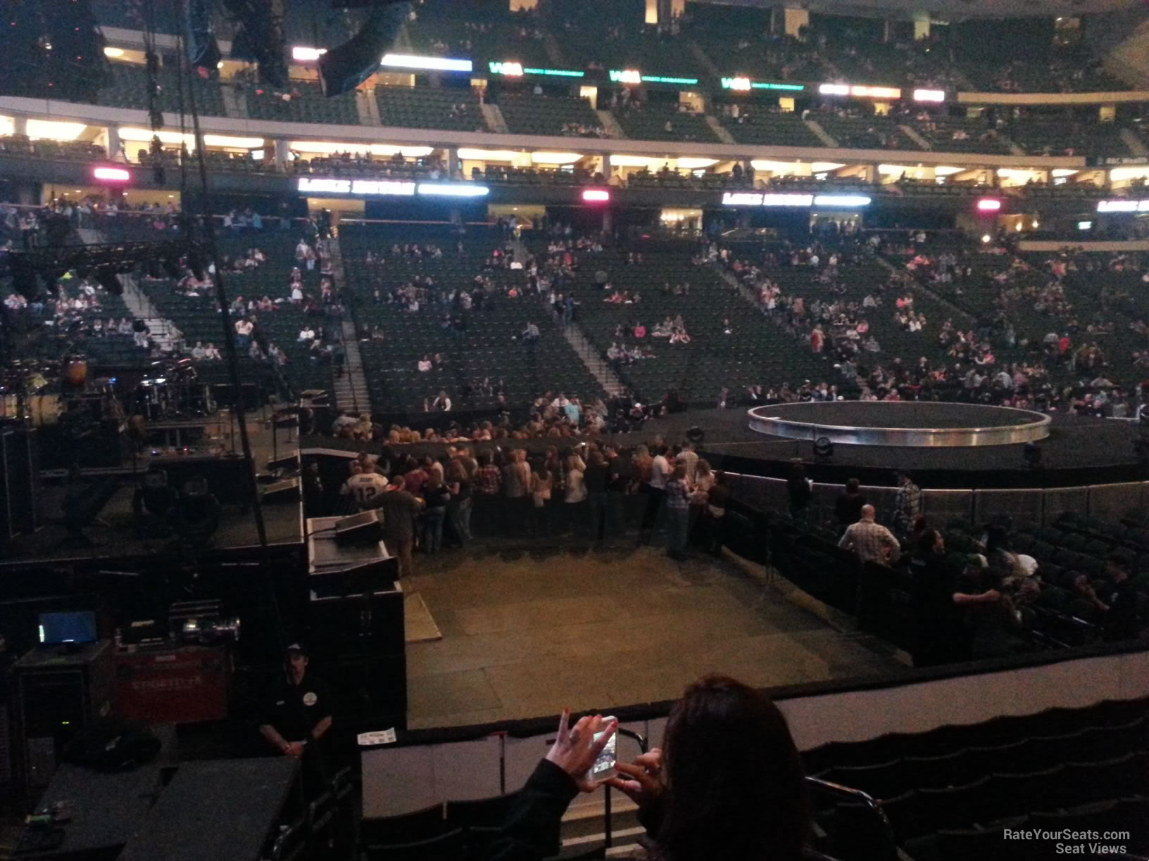 Xcel Energy Center Section 119 Concert Seating