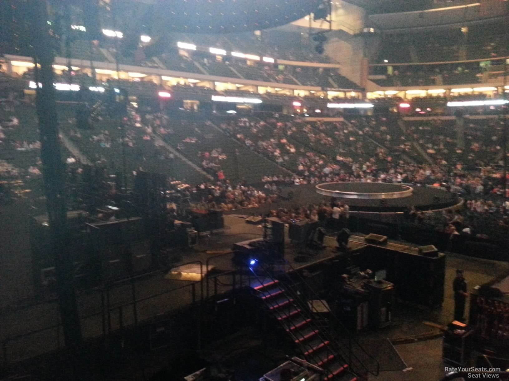Concert Seat View for Xcel Energy Center Section 121, Row 5
