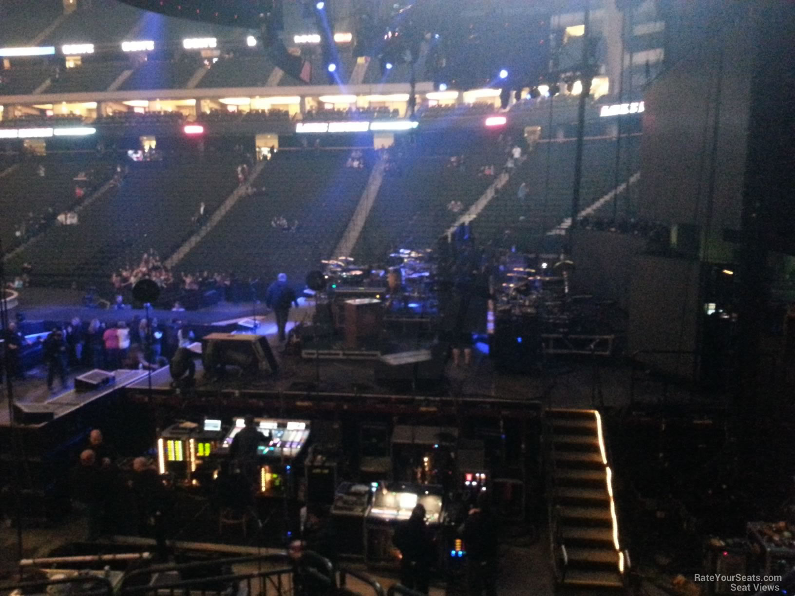 Xcel Energy Center Section 126 Concert Seating