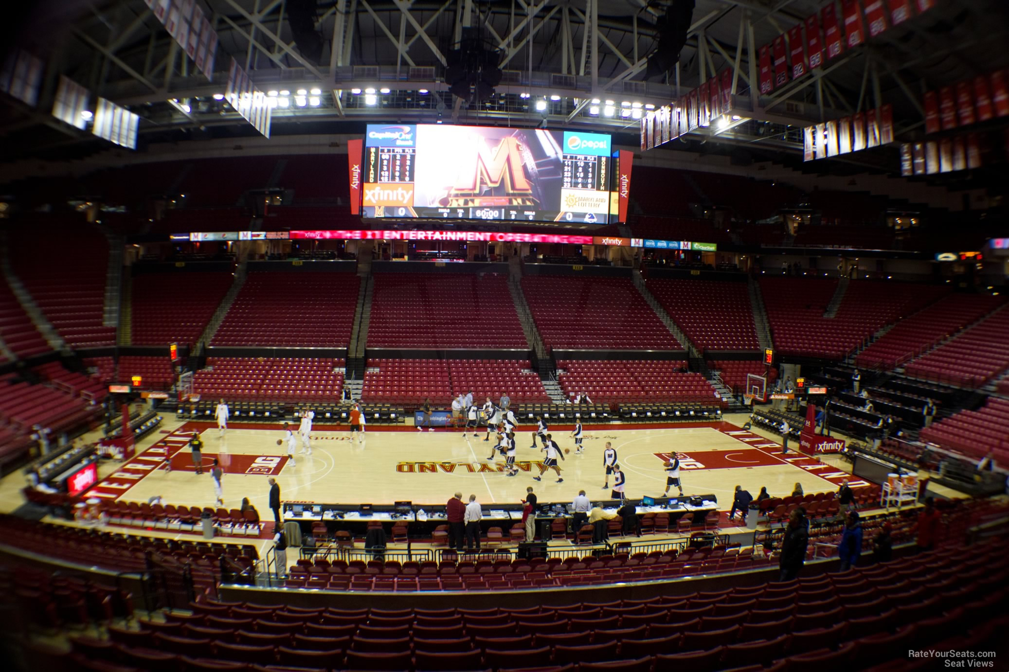 xfinity center seat view. Black Bedroom Furniture Sets. Home Design Ideas