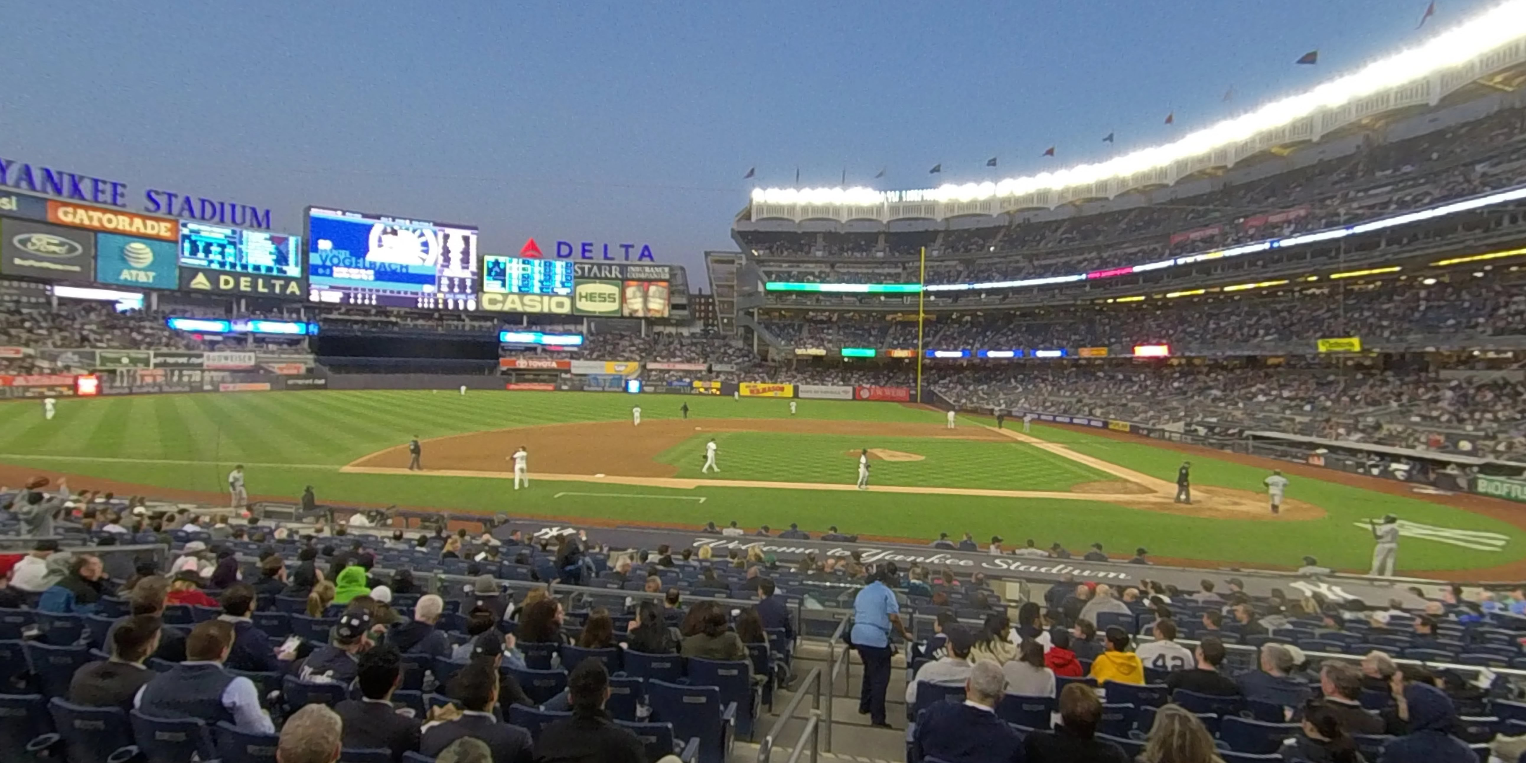 360° Photo From Yankee Stadium Section 124
