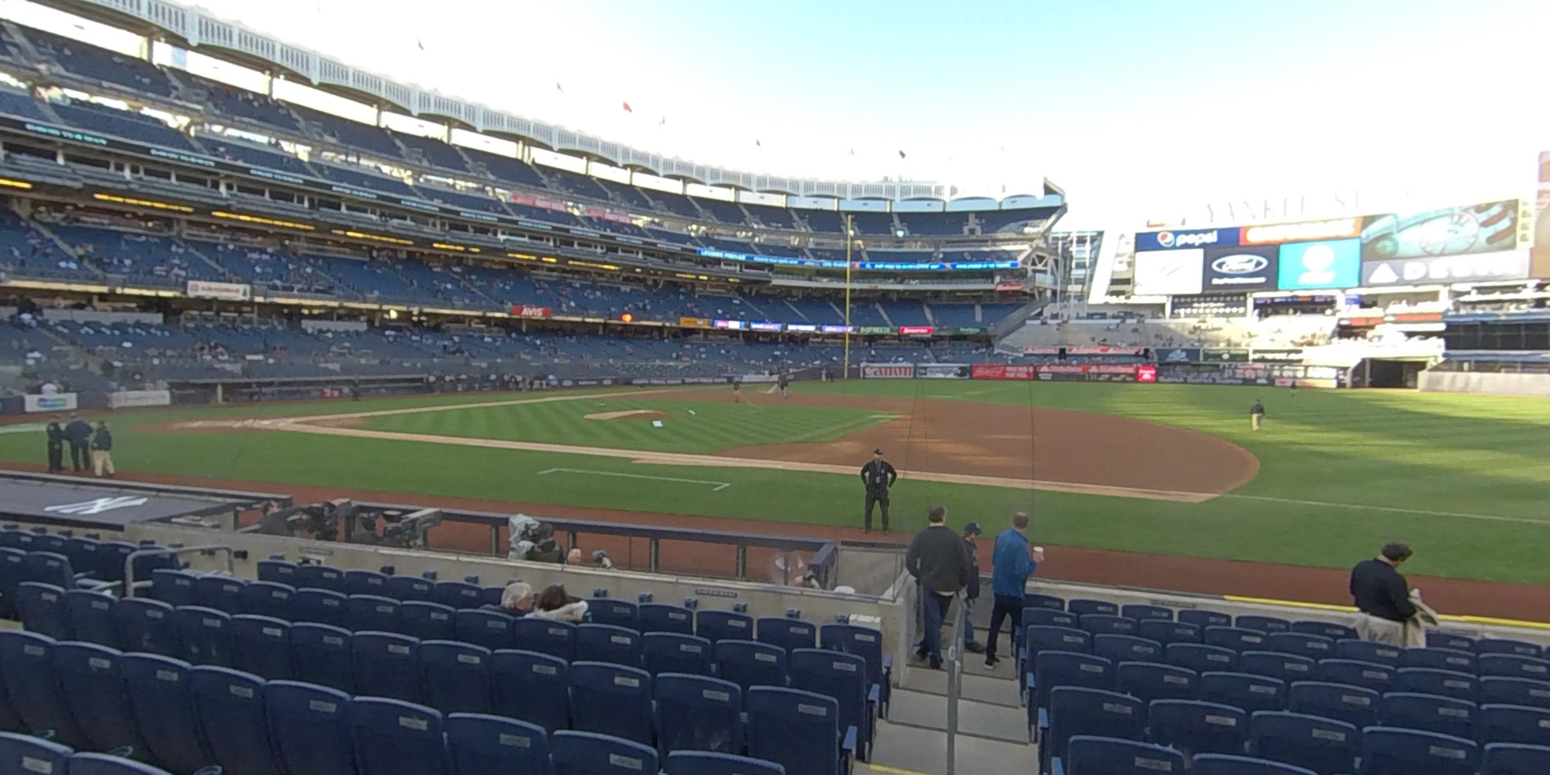 360° Photo From Yankee Stadium Section 15A