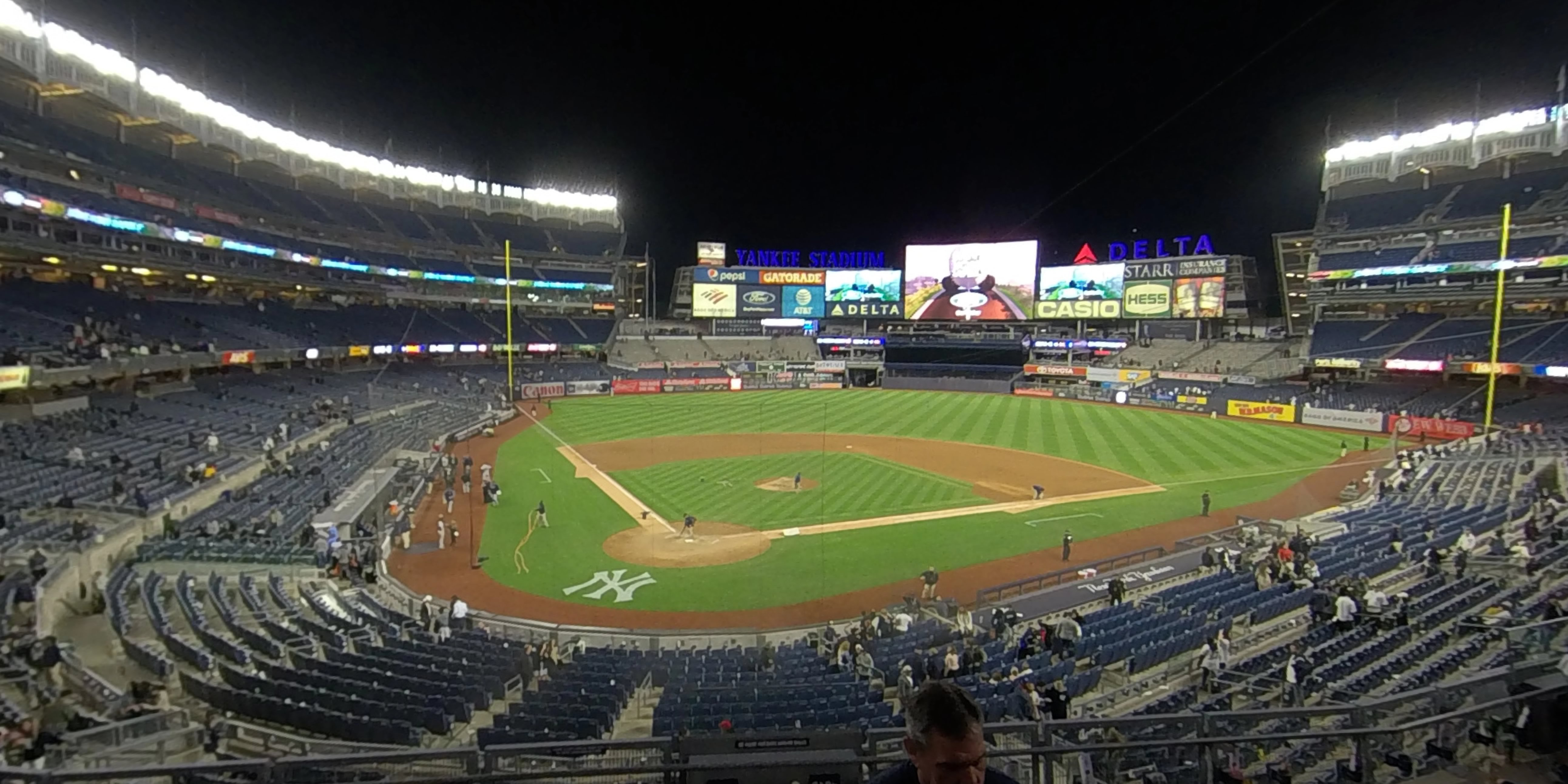 360° Photo From Yankee Stadium Section 219