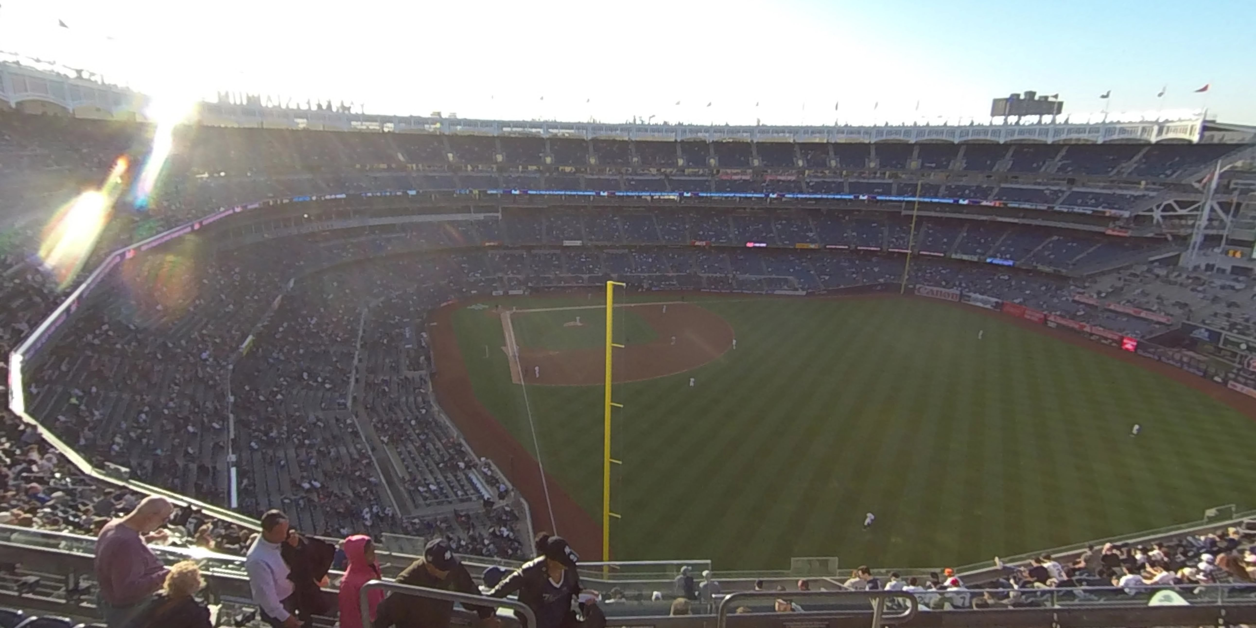 360° Photo From Yankee Stadium Section 407A