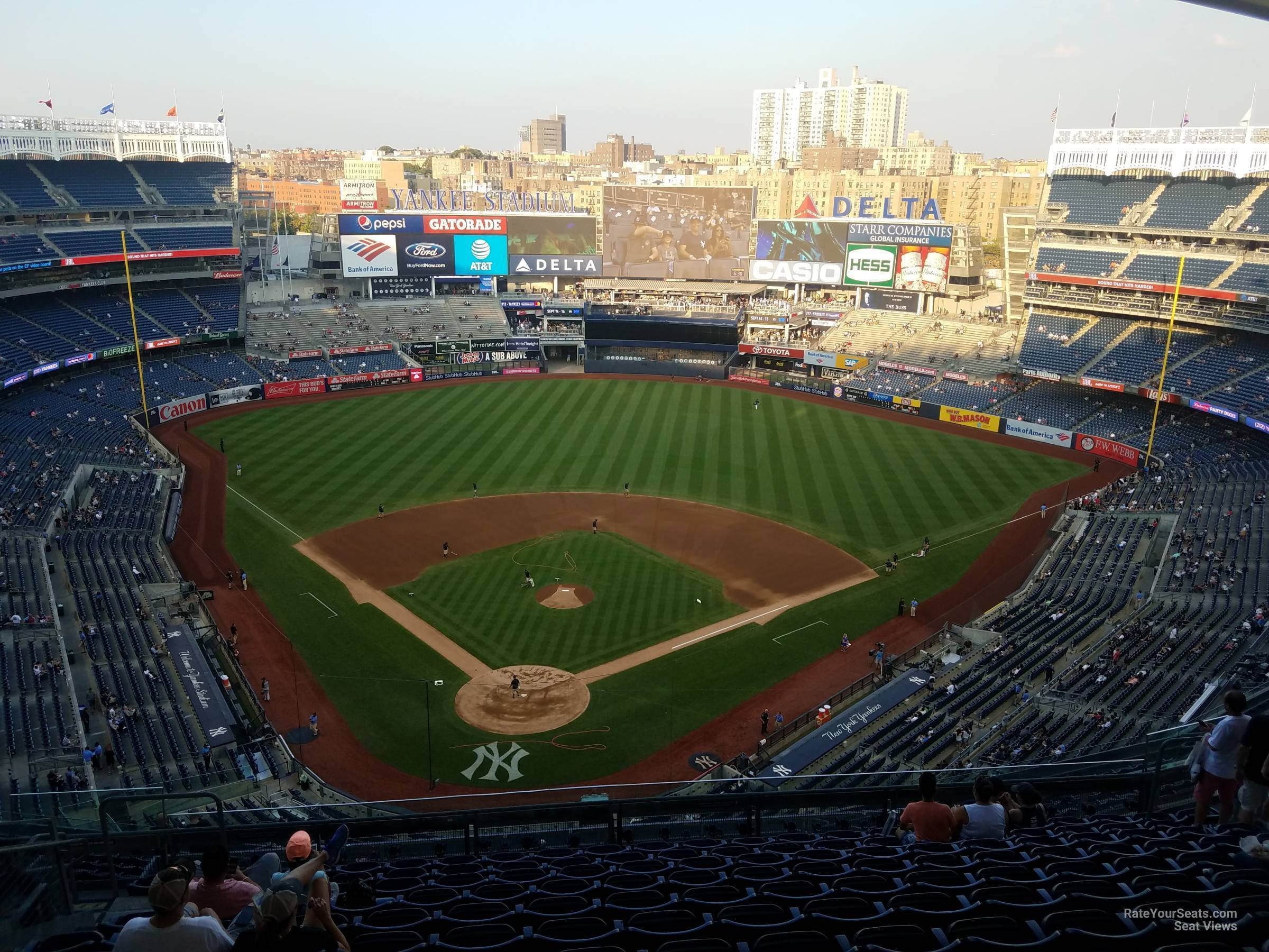 Section 420A seat view