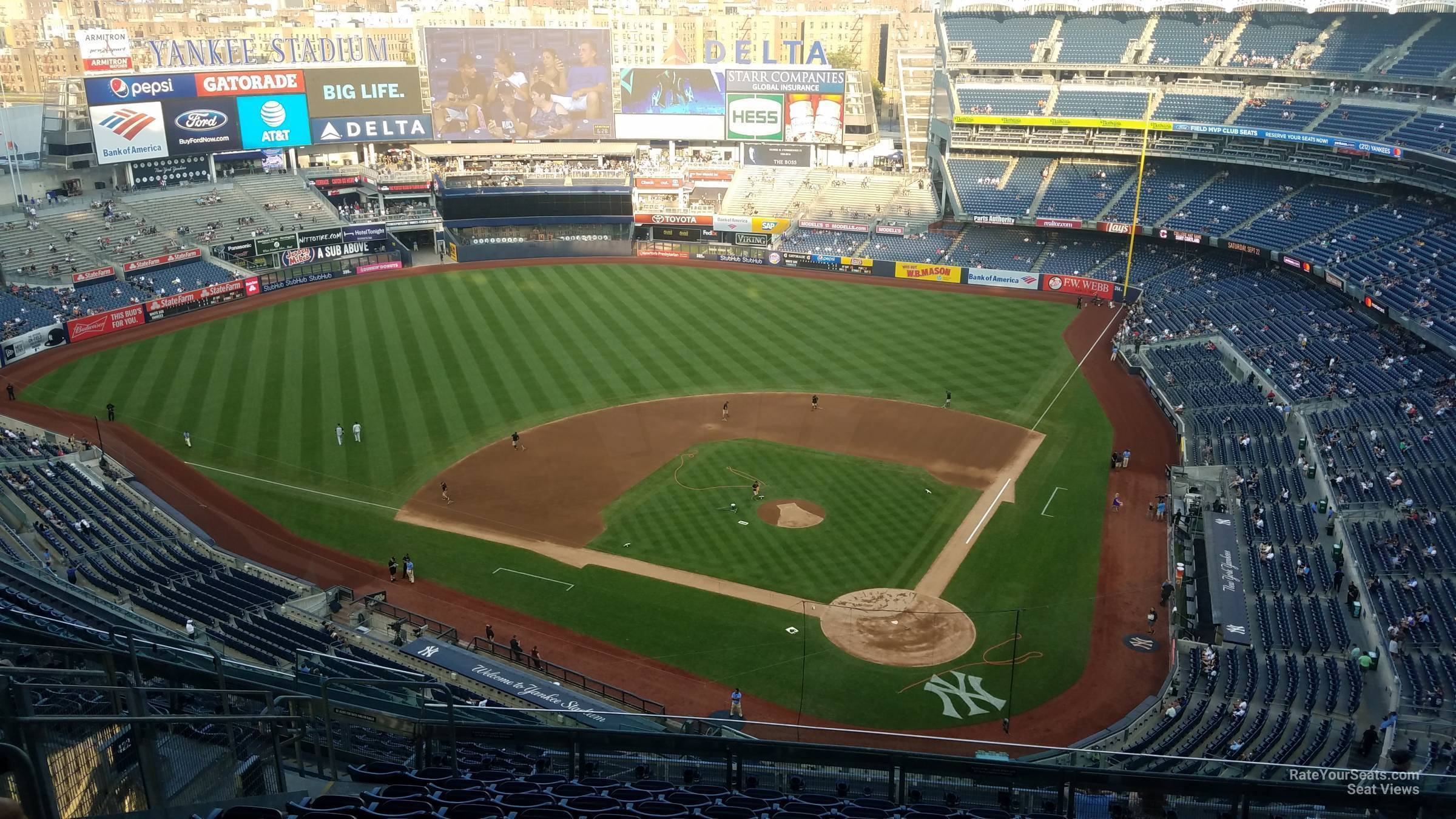 Section 421 seat view