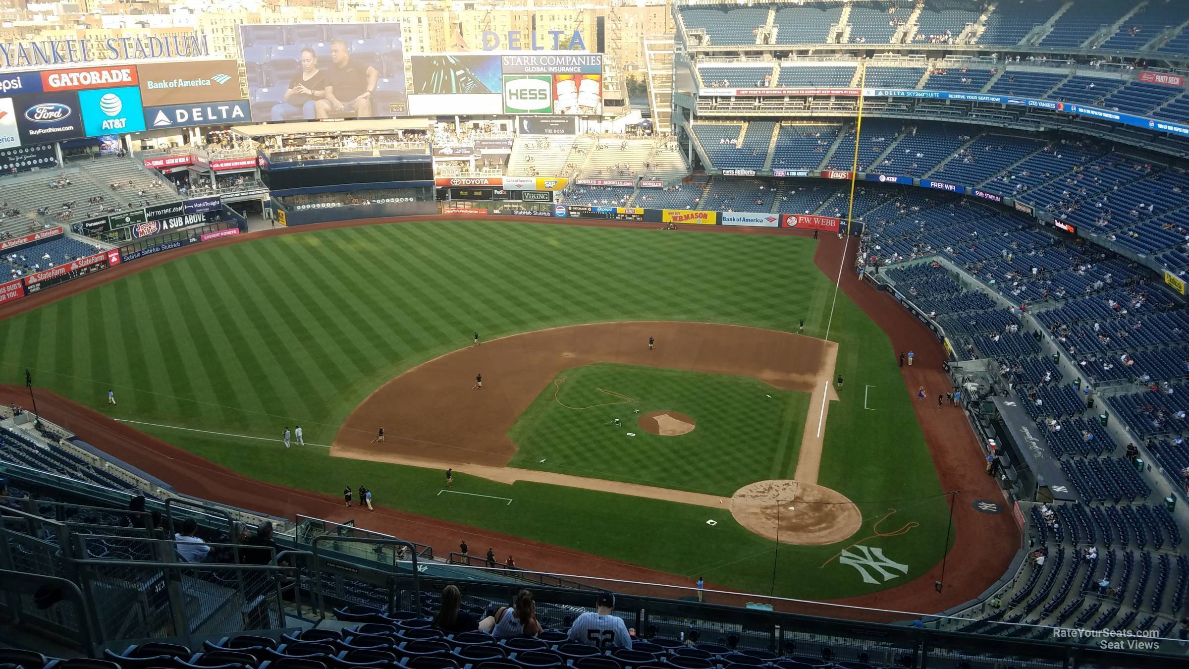 Section 422 seat view