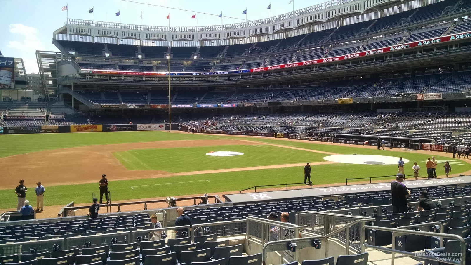 New York Yankees Seat View for Yankee Stadium Section 125, Row 11
