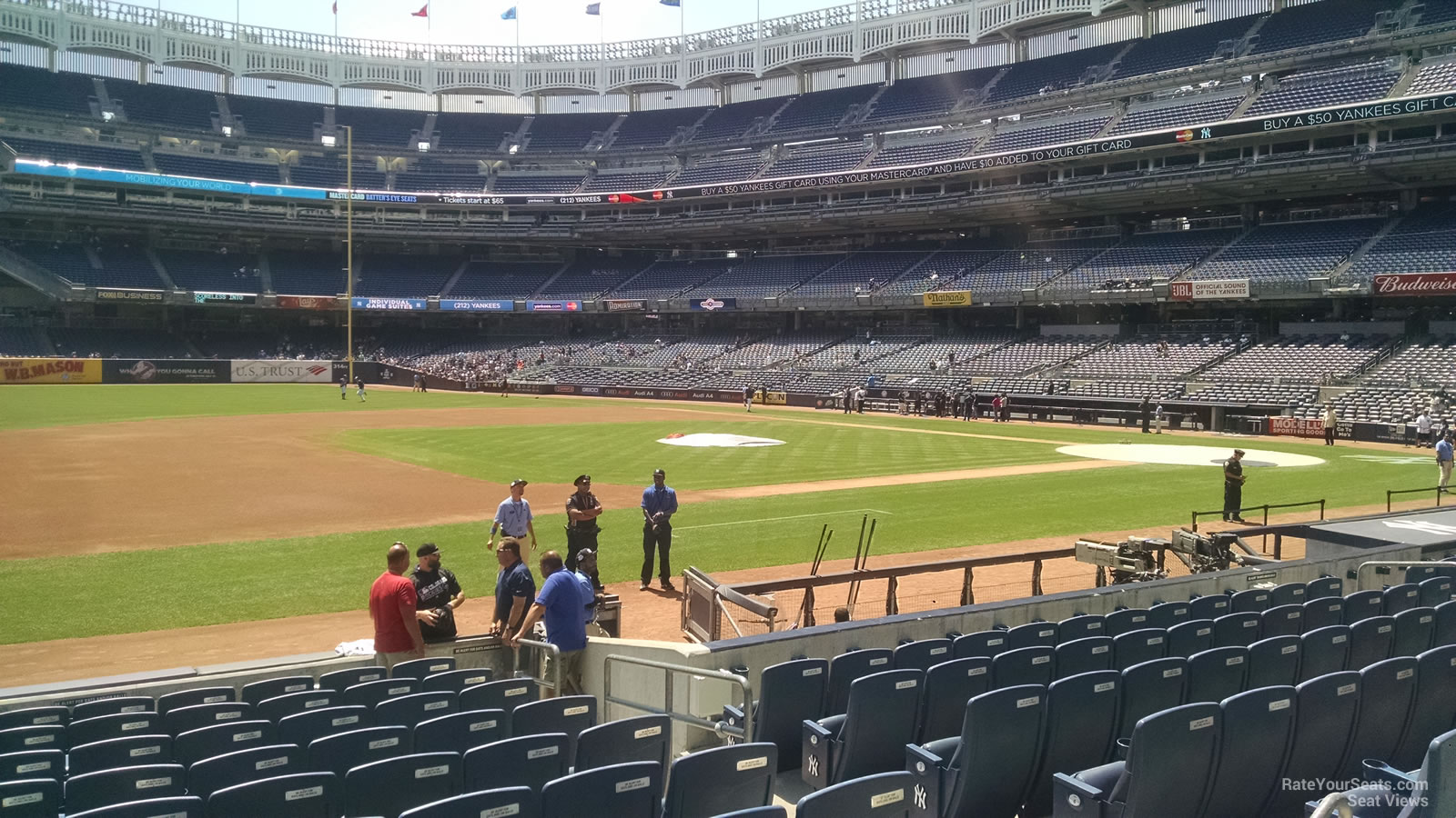 Yankee Stadium Section 126 - New York Yankees ...