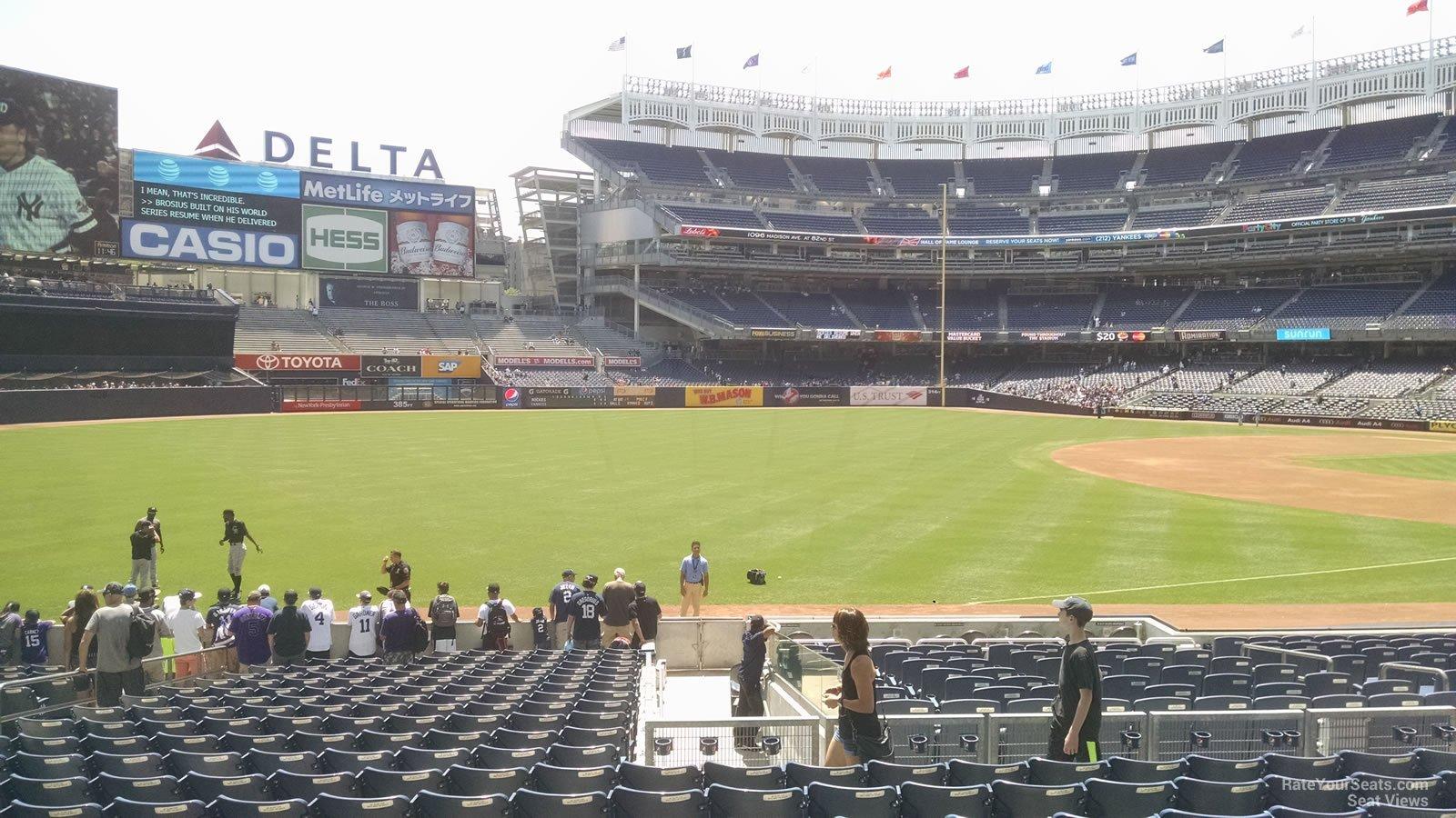 Yankee Stadium Section 129 - New York Yankees - RateYourSeats.com