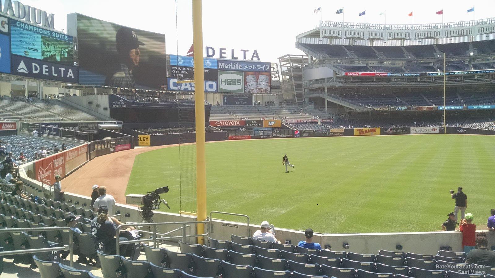 Yankee Stadium Section 131 New York Yankees
