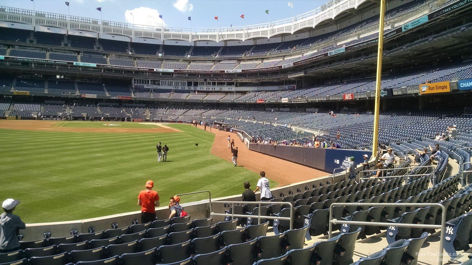 Yankee Stadium Section 134 - New York Yankees ...