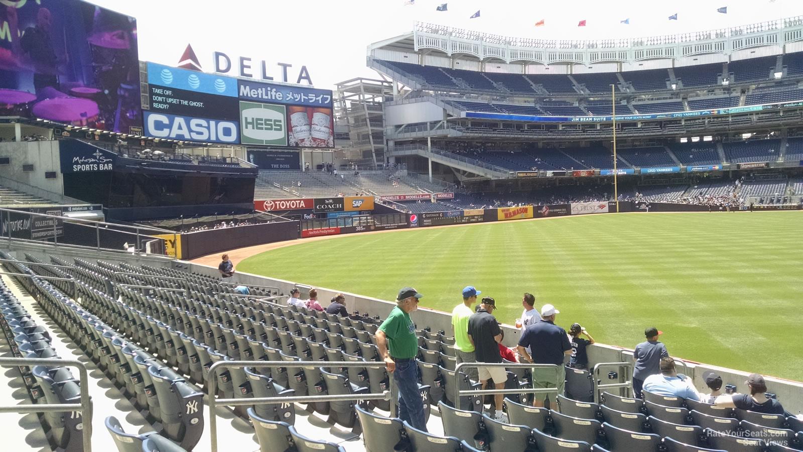 Yankee Stadium Section 134 - New York Yankees - RateYourSeats.com