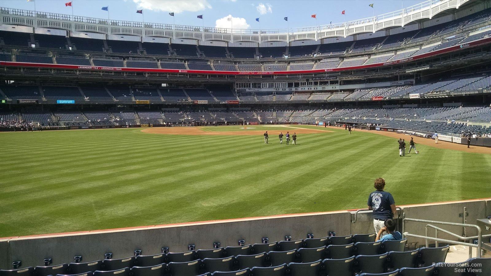 Yankee Stadium Section 136 - New York Yankees - RateYourSeats.com