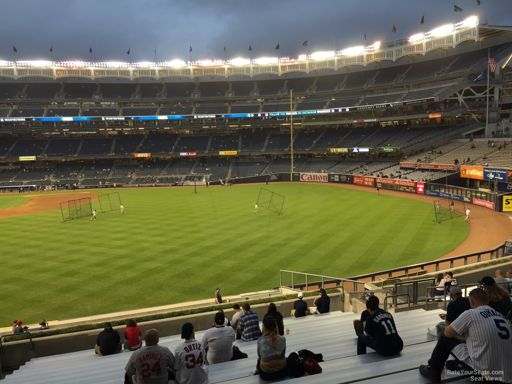 Yankee Stadium Section 203 - New York Yankees - RateYourSeats.com