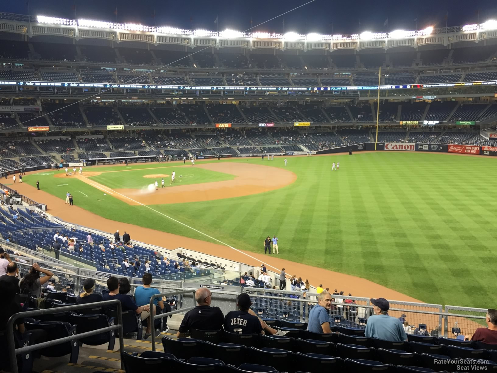 Yankee Stadium Section 209 New York Yankees