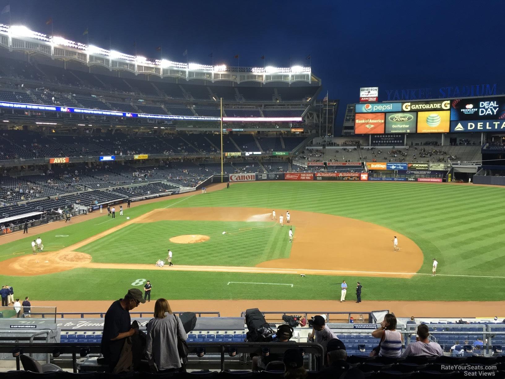 Yankee Stadium Section 215 New York Yankees