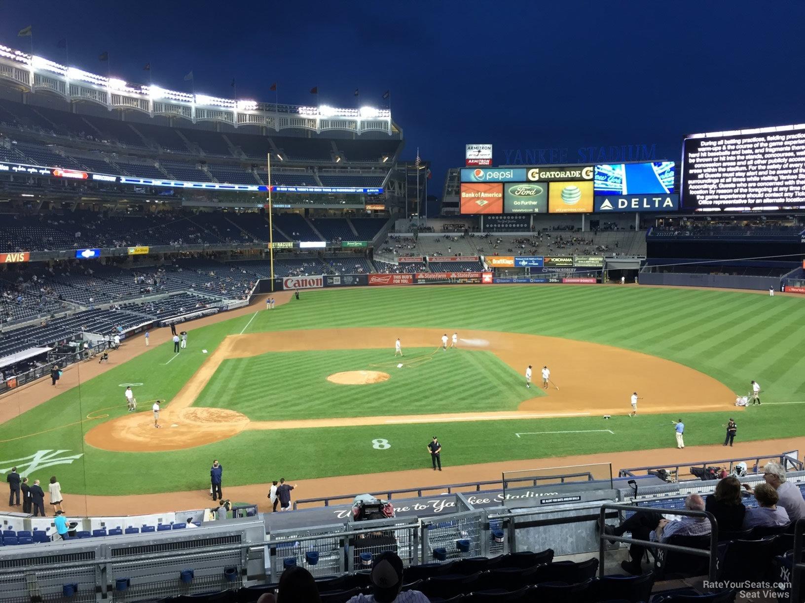 Yankee Stadium Section 217 - New York Yankees - RateYourSeats.com
